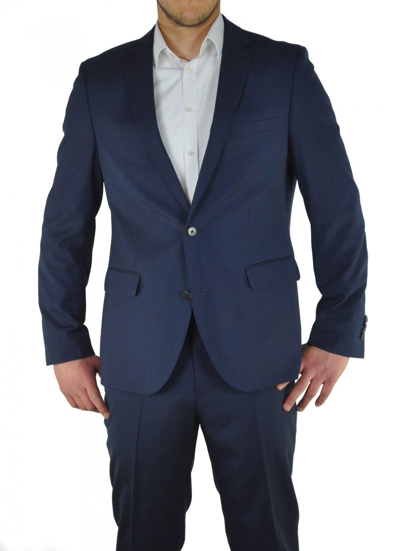 Moderner Anzug in den Farben Anthrazit oder Dunkelblau, Modern Fit, Marco/Gio (8351720) – Bild 2