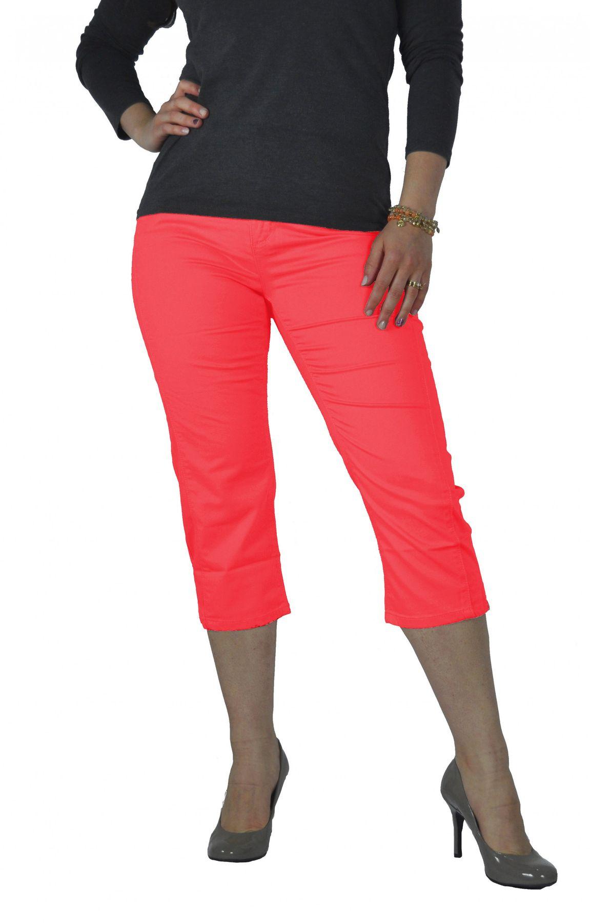 Stooker - Damen 3/4 Capri Stretch Hose in verschiedenen Farben, Tahiti (0482) – Bild 3