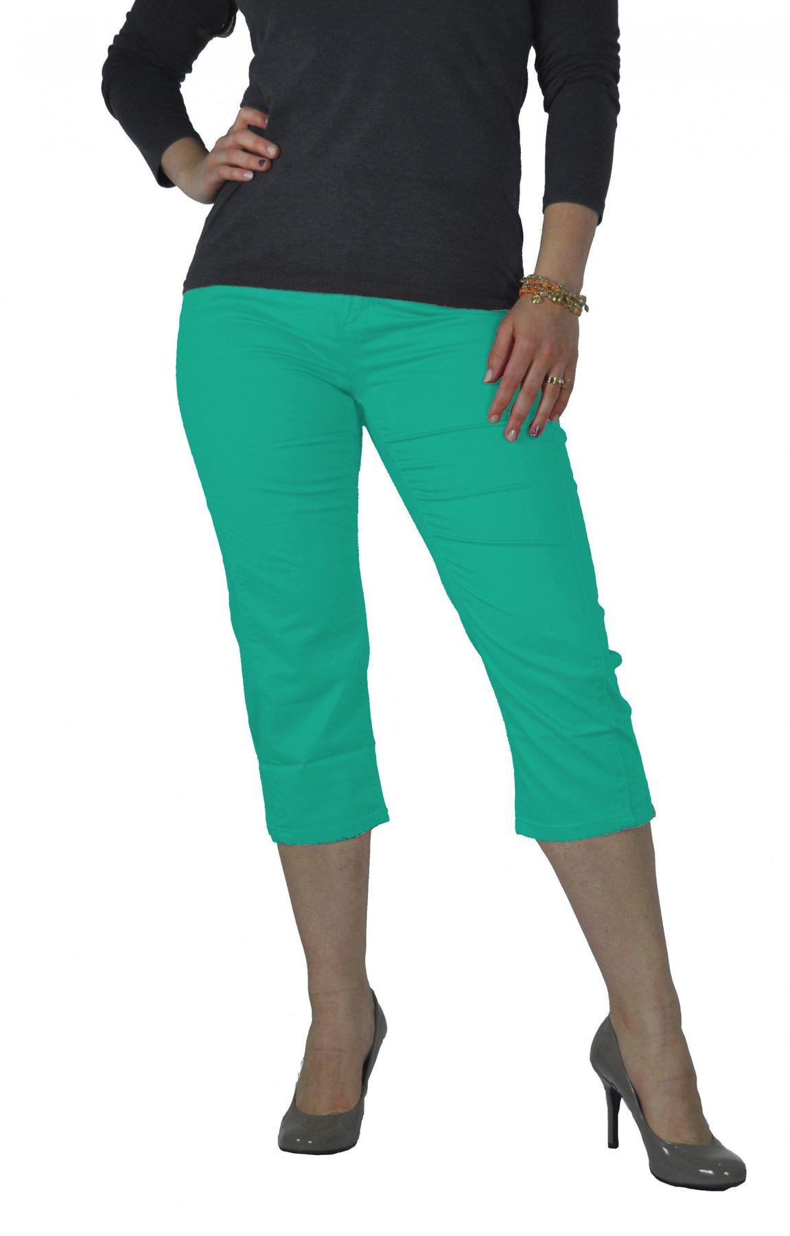 Stooker - Damen 3/4 Capri Stretch Hose in verschiedenen Farben, Tahiti (0482) – Bild 2