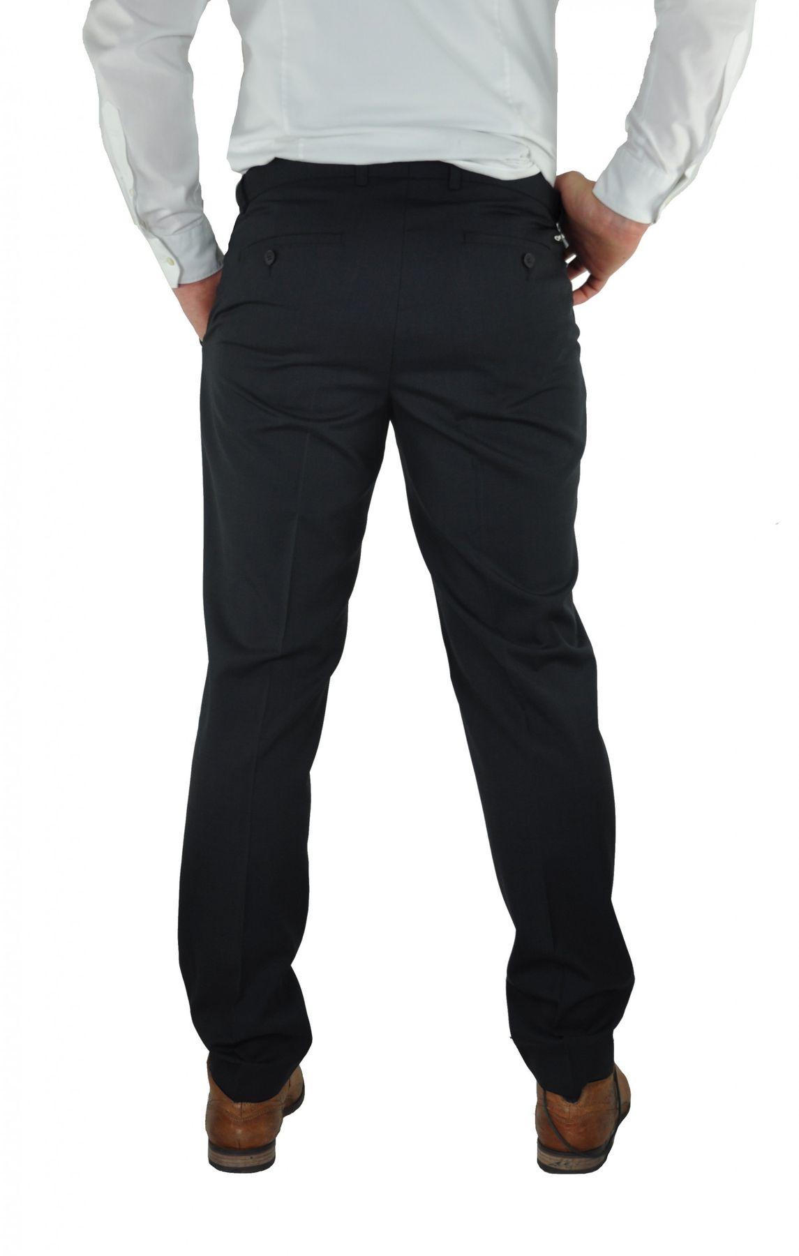 Modern Fit Baukasten Anzughose in Anthrazit oder Blau, Gio (8351720, Modell: 56) – Bild 5