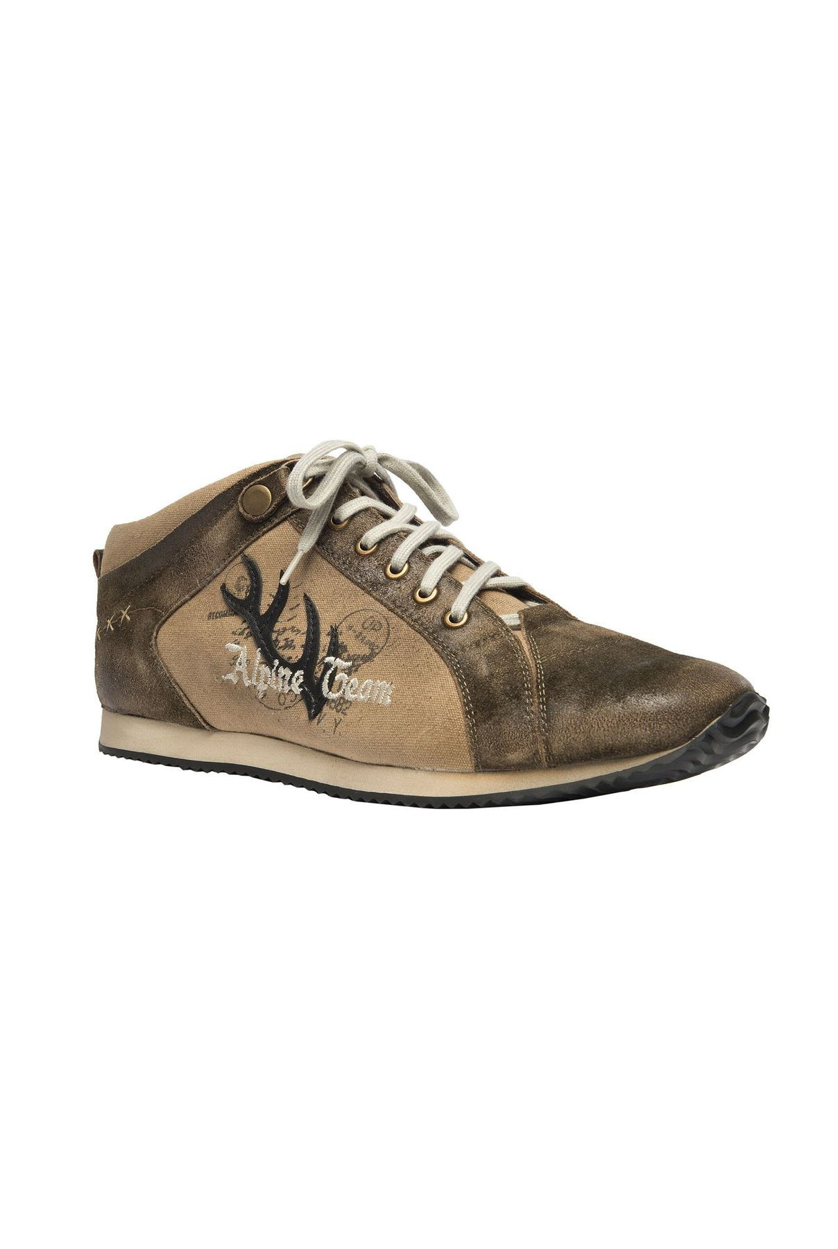 STOCKERPOINT - Herren Trachten Sneaker in Bison gespeckt, 1307 – Bild 1