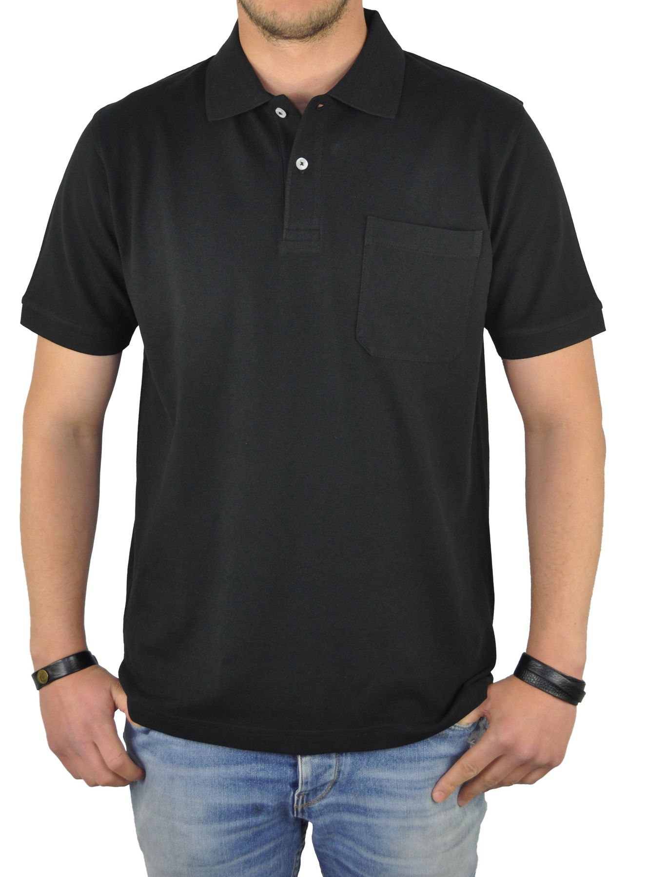 KITARO - Herren Poloshirt in verschiedenen Farben (68800) – Bild 1