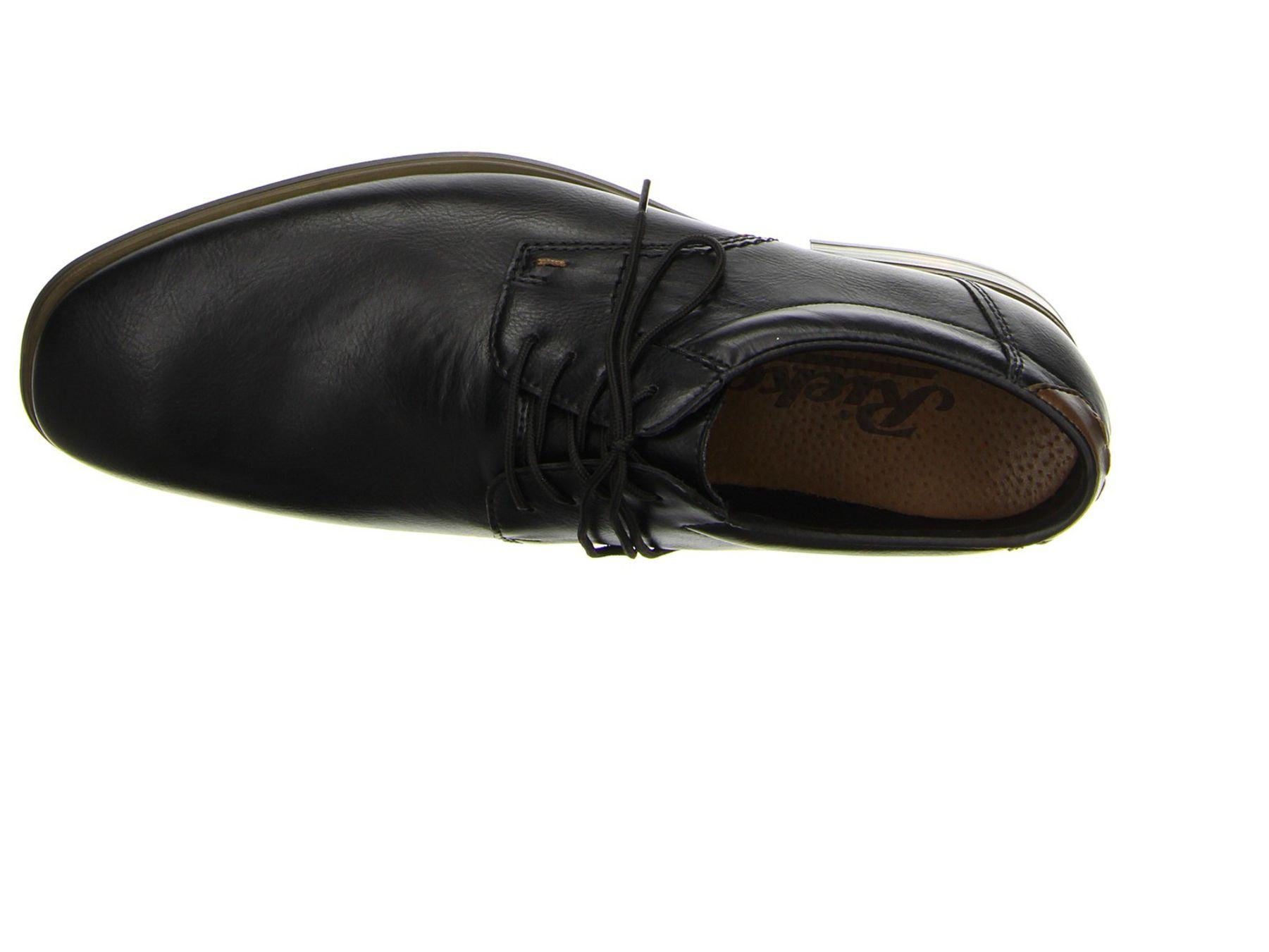 Rieker - Herren Schnür Schuhe in Schwarz und Braun, (10610) – Bild 4