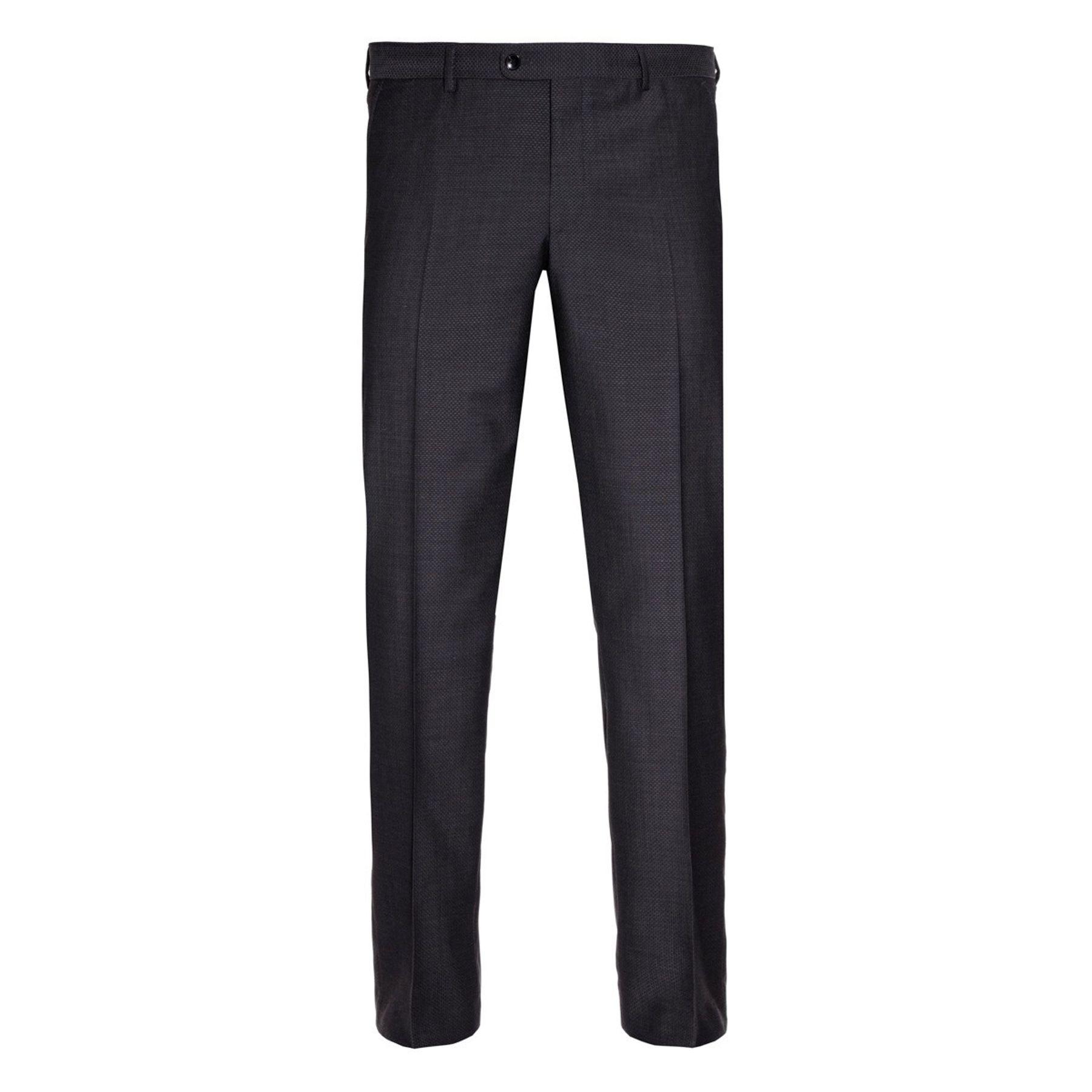 Benvenuto Black - Modern Fit - Herren Anzug aus Super 100'S Schurwolle (Artikel: 20807) – Bild 3