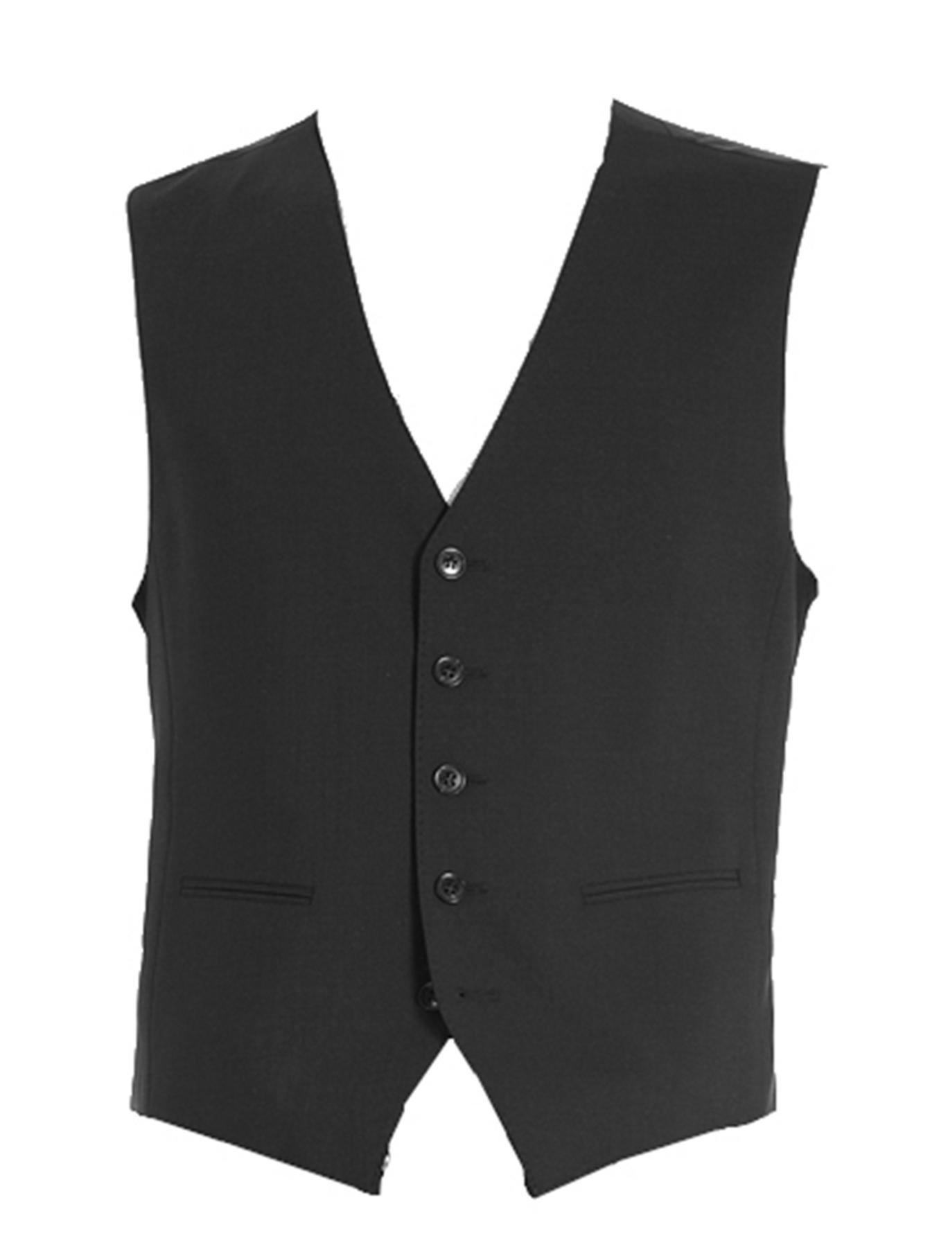 Benvenuto Black - Regular Fit - Herren Baukasten Weste (Artikel: 20097, Modell: 60211) – Bild 1