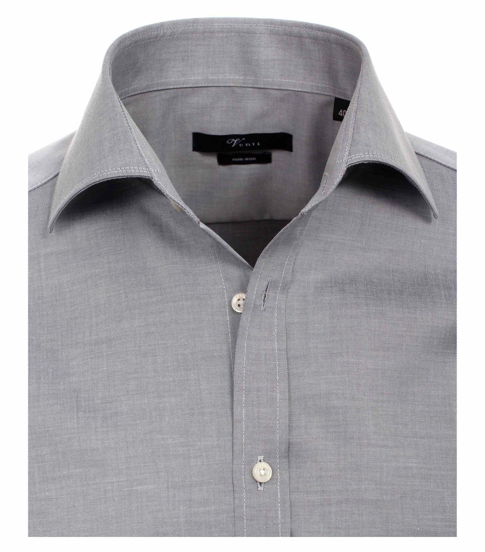 Venti - Slim Fit - Bügelfreies Herren Langarm Hemd mit Haifisch Kragen in verschiedenen Farben (001800 A) – Bild 13