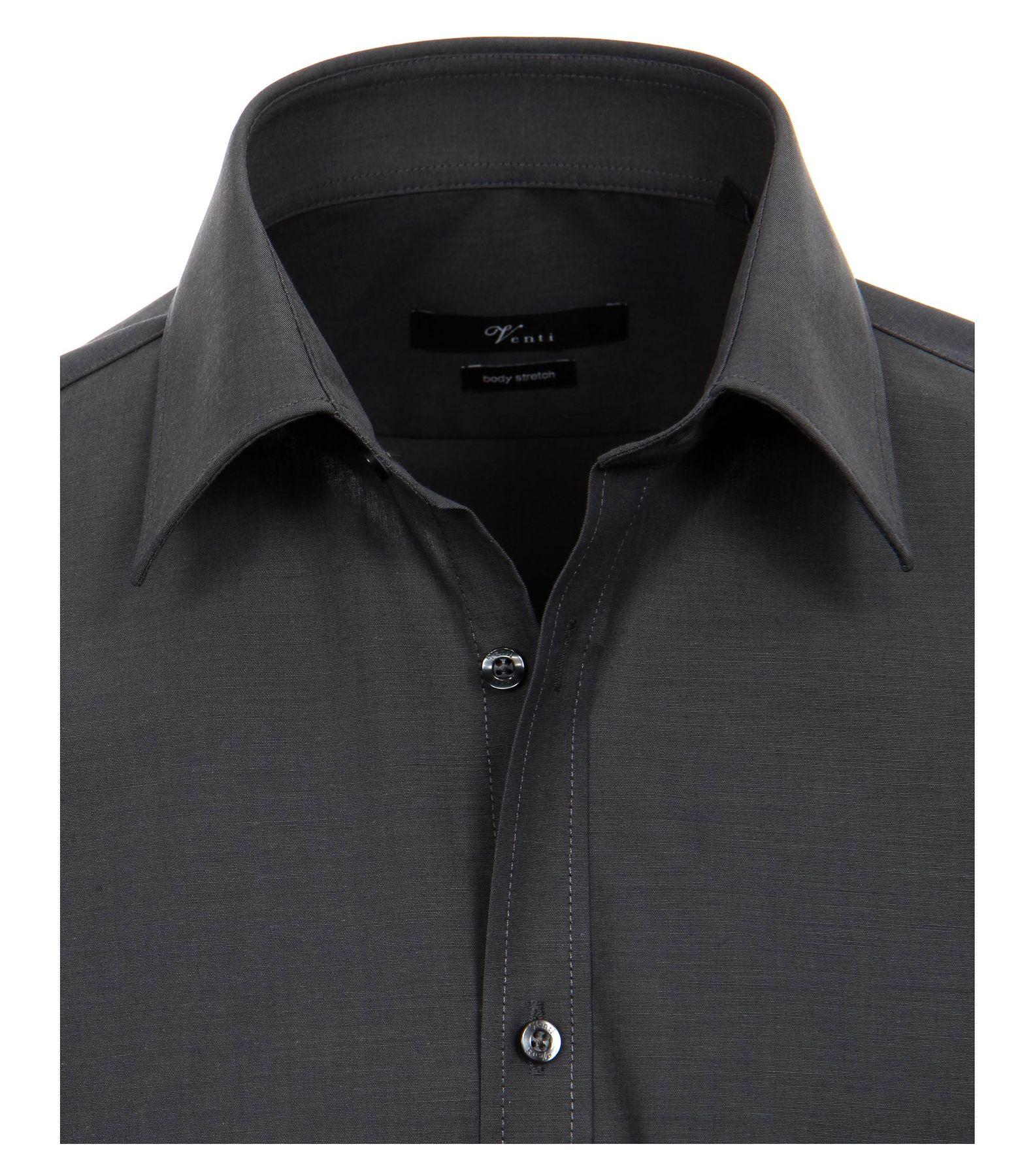 Venti - Body Fit/Super Slim Fit - Bügelfreies Herren Langarm Hemd in diversen Farben (001470) – Bild 10