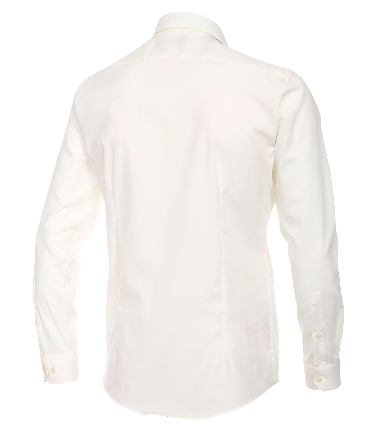 Venti - Body Fit/Super Slim Fit - Bügelfreies Herren Langarm Hemd in diversen Farben (001470) – Bild 7