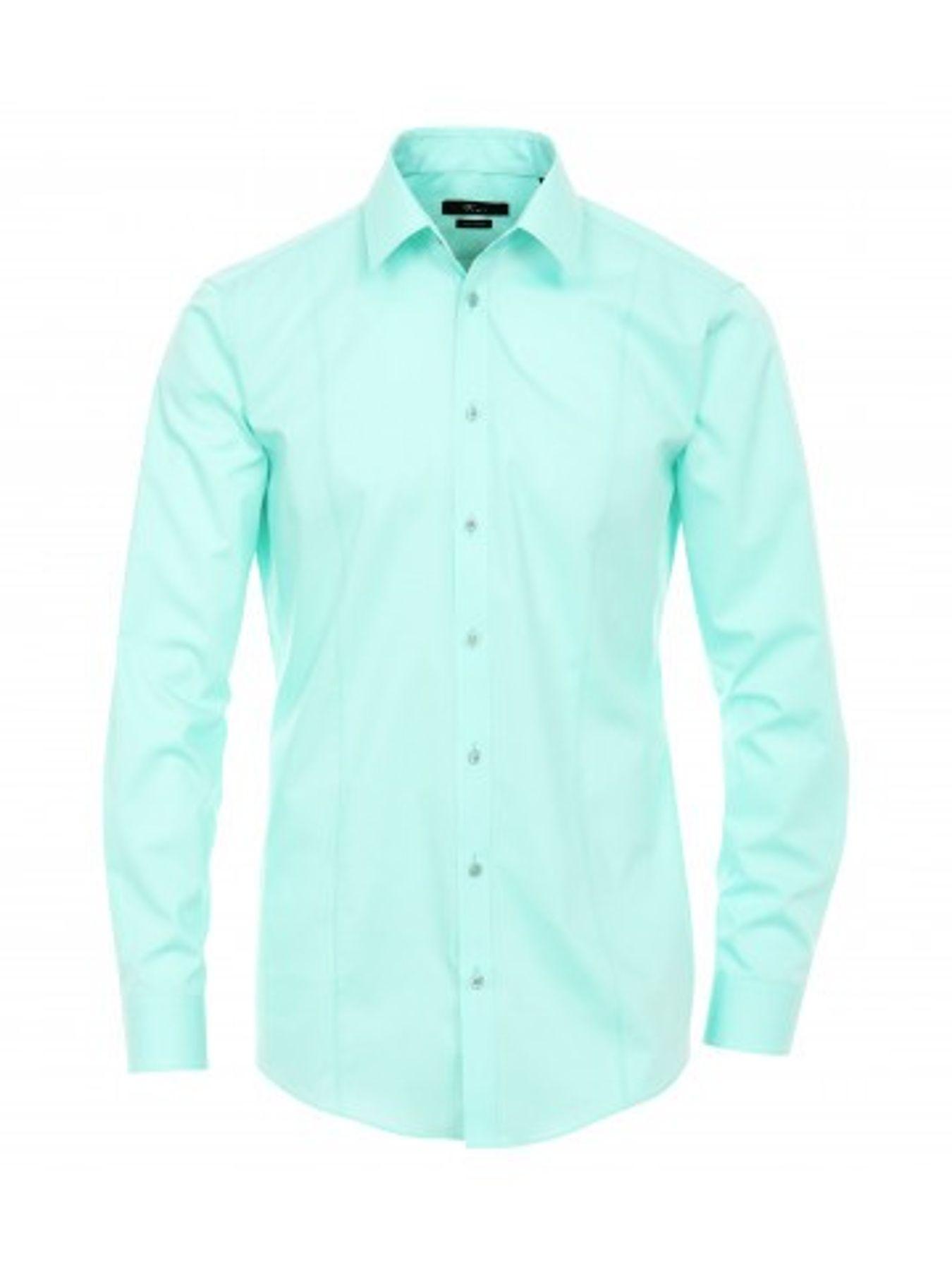 Venti - Body Fit/Super Slim Fit - Bügelfreies Herren Langarm Hemd in diversen Farben (001470) – Bild 23