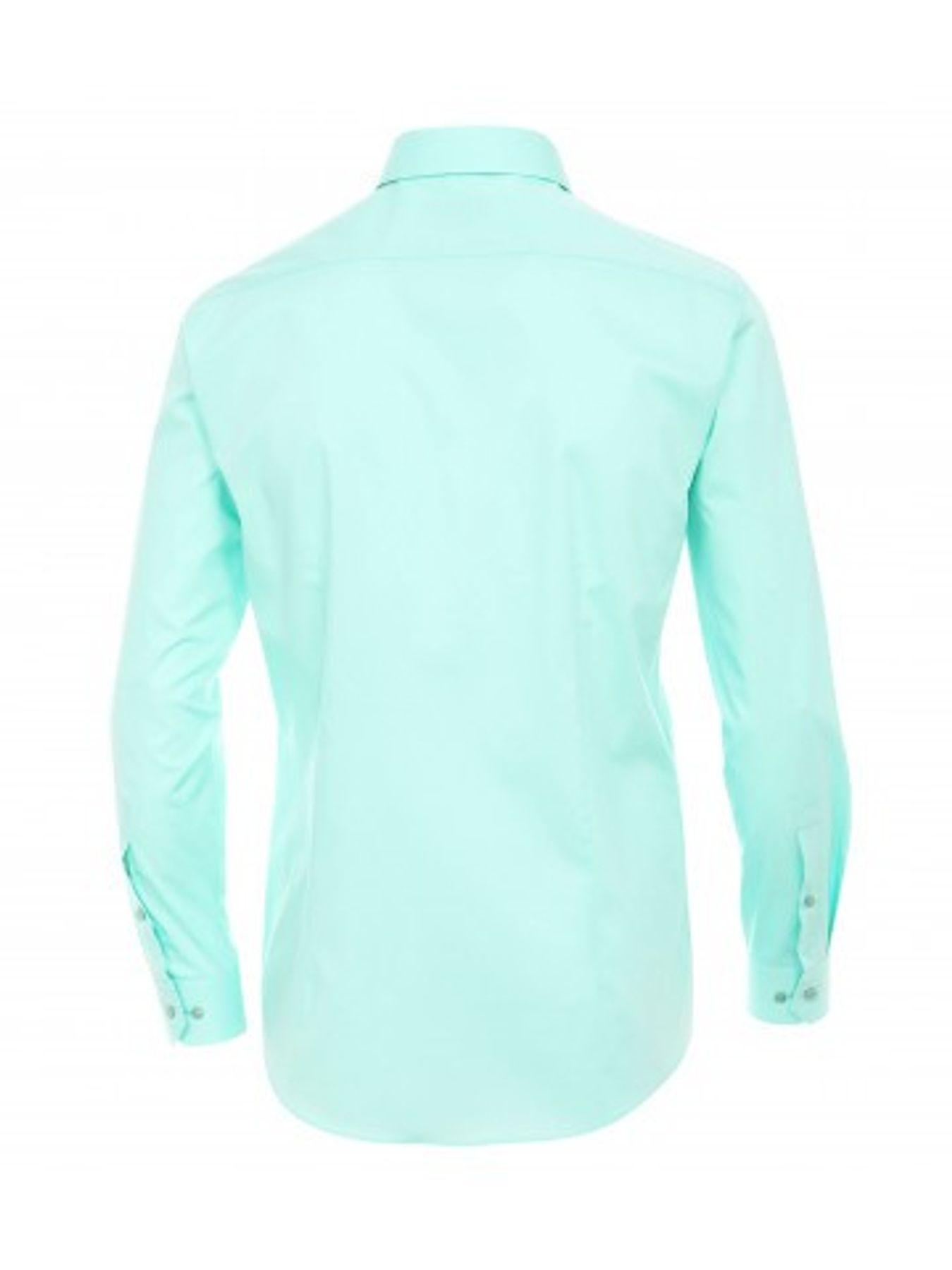 Venti - Body Fit/Super Slim Fit - Bügelfreies Herren Langarm Hemd in diversen Farben (001470) – Bild 24