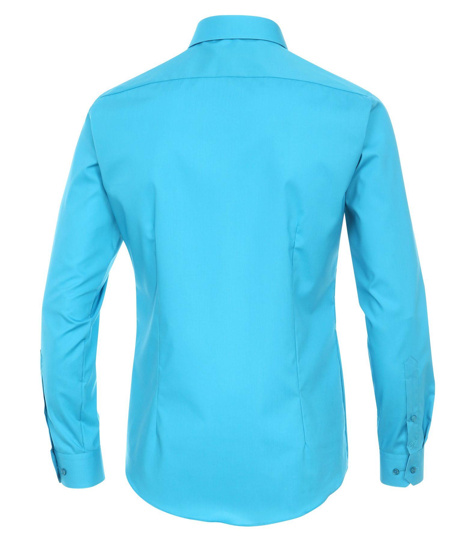 Venti - Body Fit/Super Slim Fit - Bügelfreies Herren Langarm Hemd in diversen Farben (001470) – Bild 20