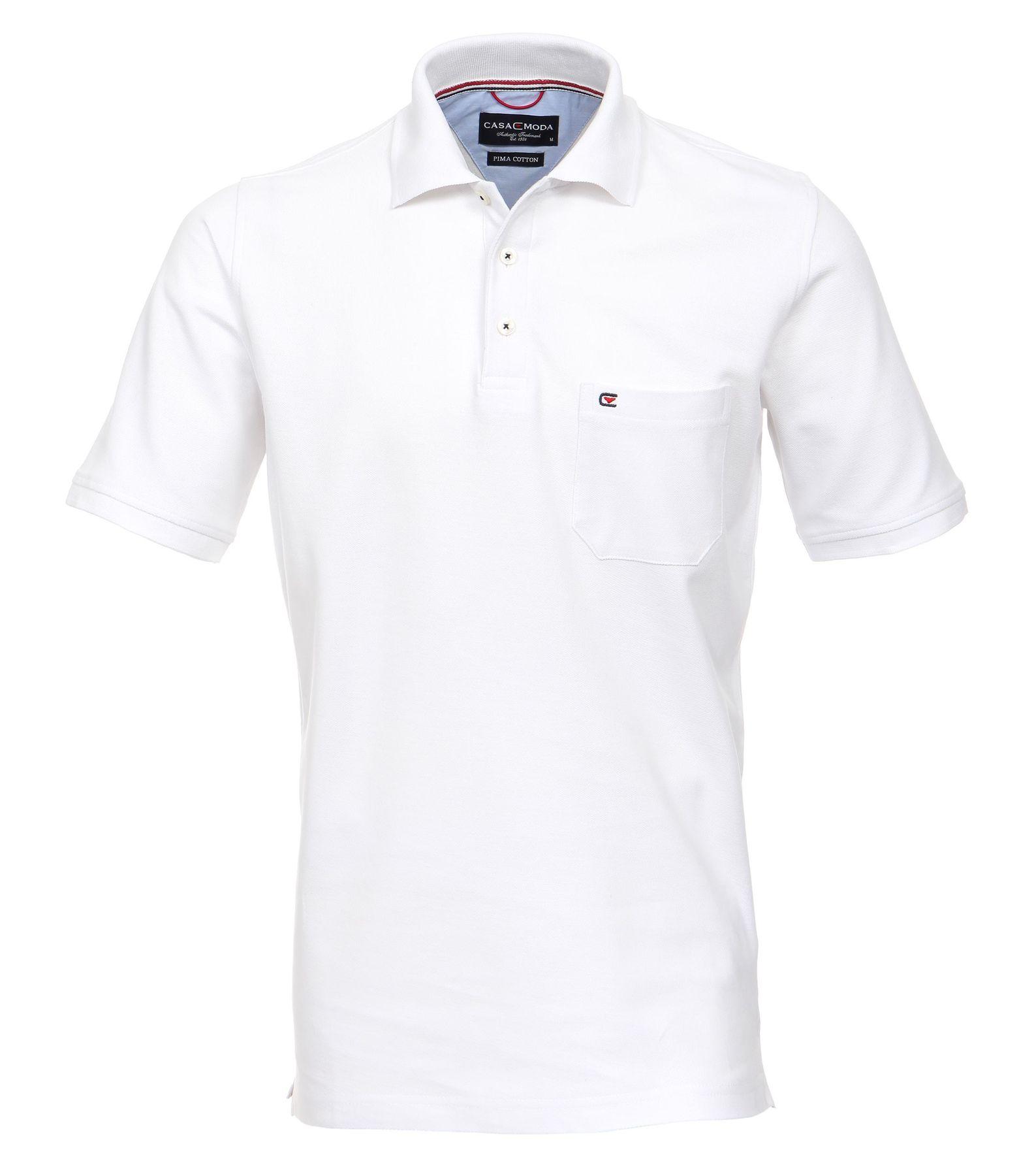 Casa Moda - Herren Polo Shirt mit Brusttasche in verschiedenen Farben S-6XL (004270) – Bild 7