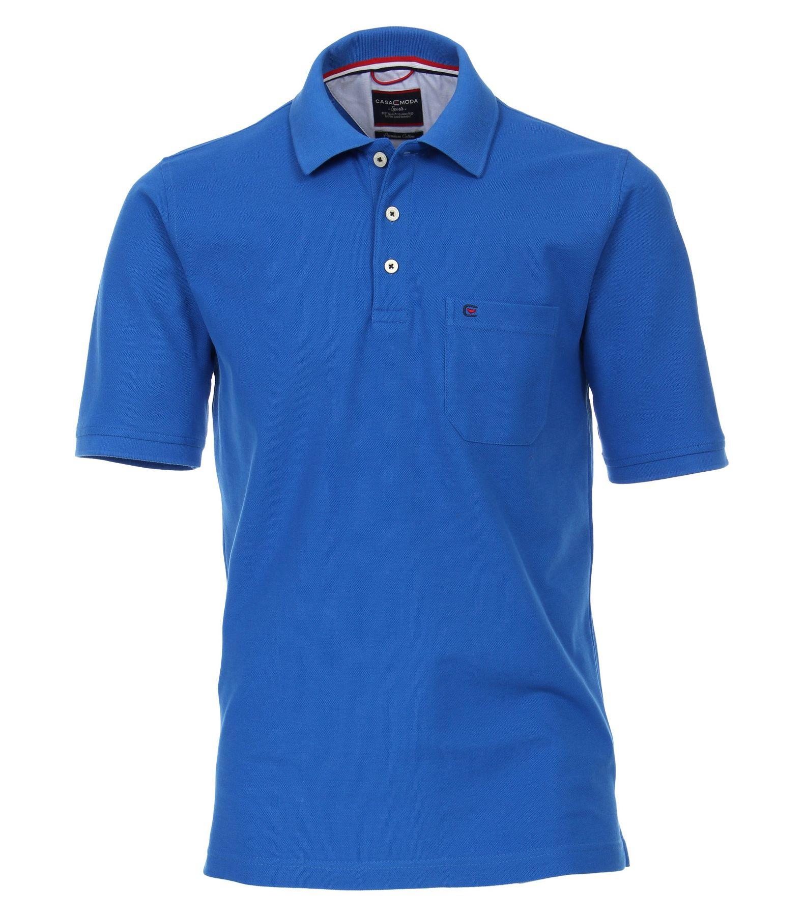 Casa Moda - Herren Polo Shirt mit Brusttasche in verschiedenen Farben S-6XL (004270) – Bild 6