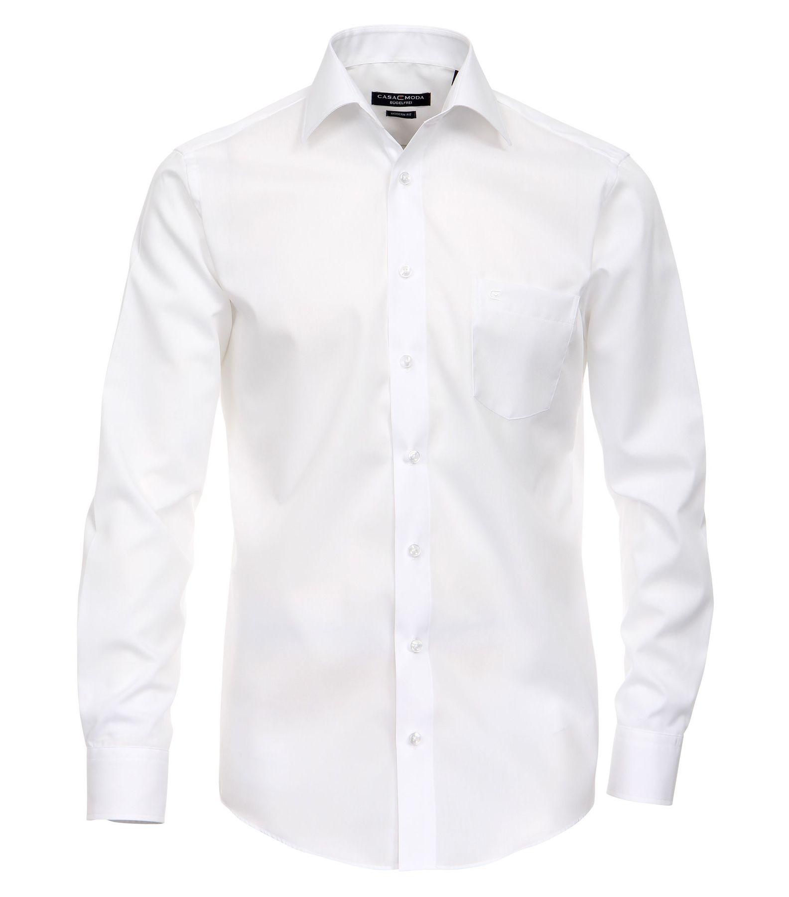 Casamoda - Modern Fit - Bügelfreies Herren Business Langarm Hemd verschiedene Farben (006560A) – Bild 5