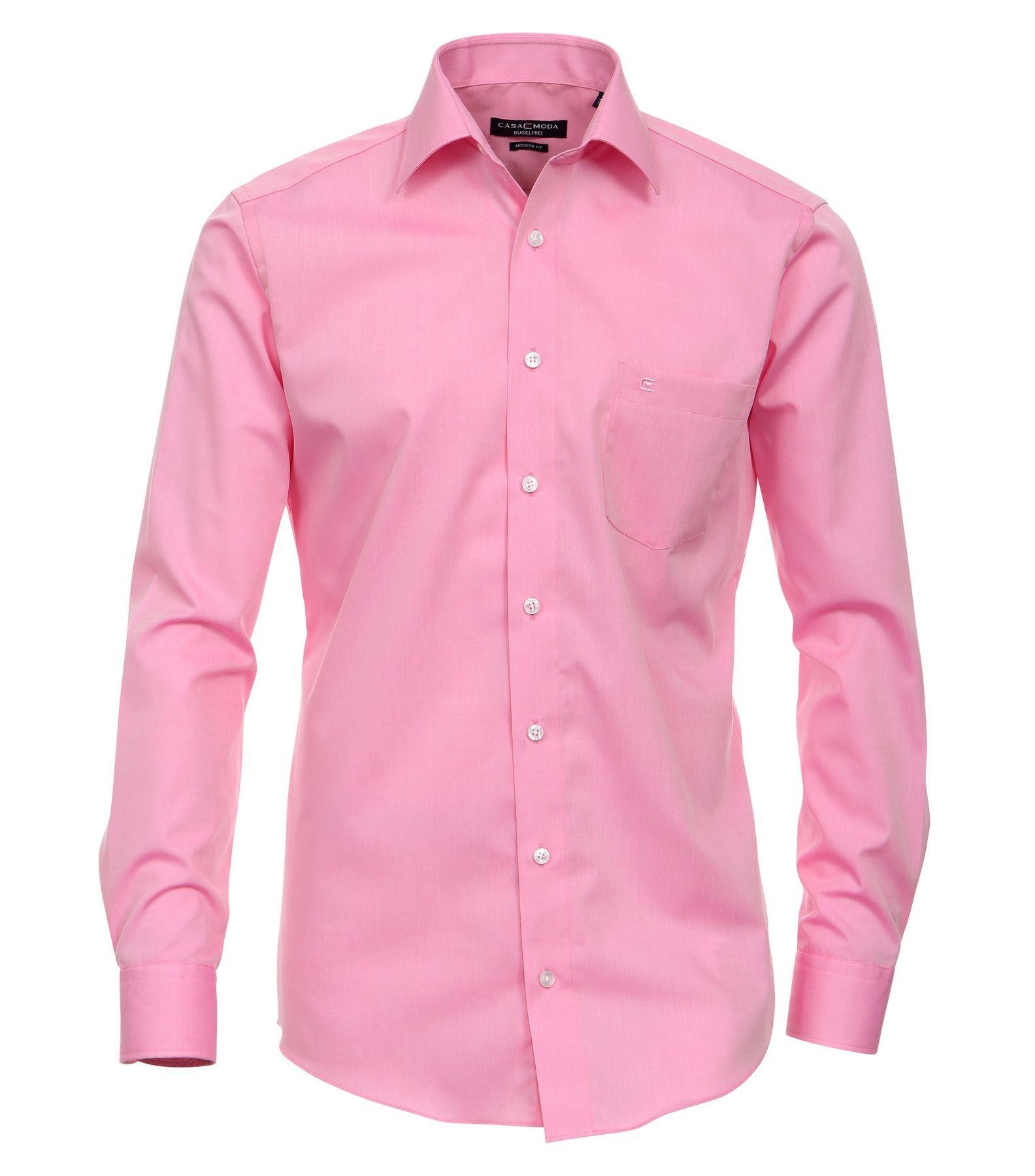 Casamoda - Modern Fit - Bügelfreies Herren Business Langarm Hemd verschiedene Farben (006560A) – Bild 24