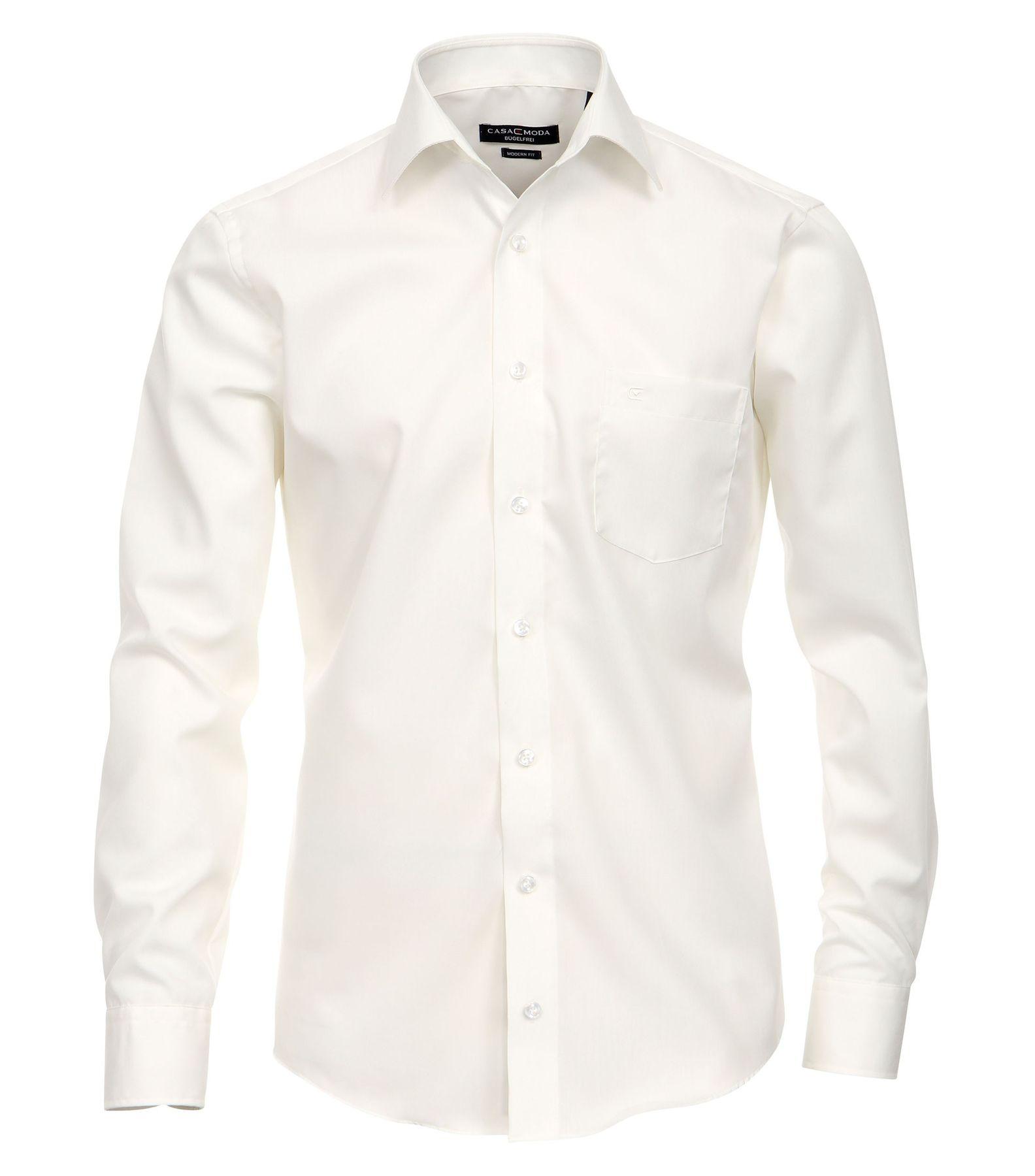 Casa Moda - Modern Fit - Bügelfreies Herren Business Hemd mit Extra langem Arm (72cm) in verschiedenen Farben (006562) – Bild 17