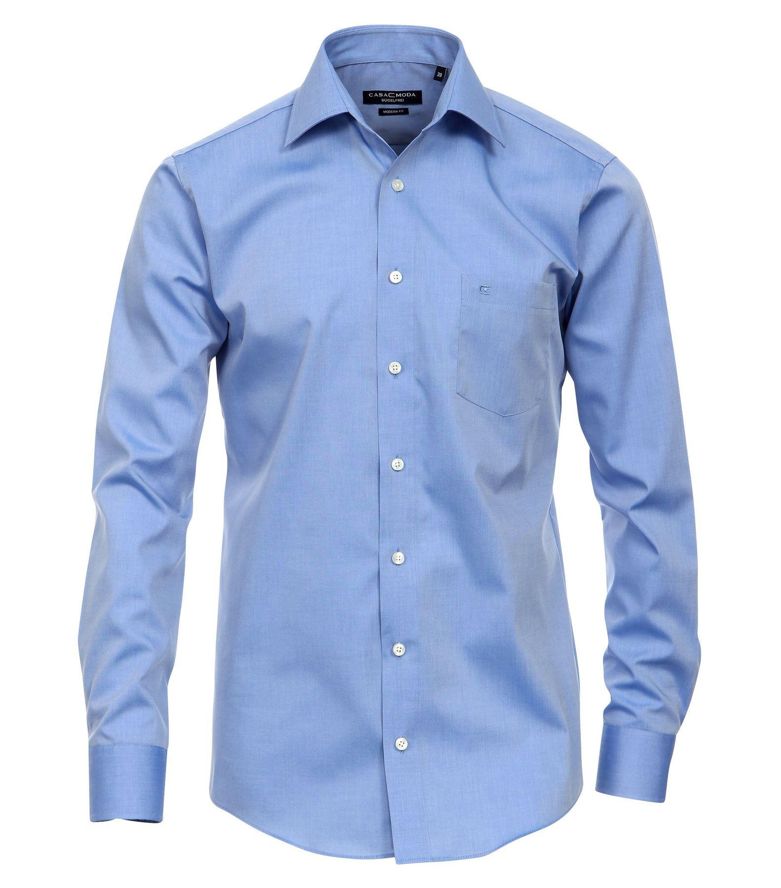 Casa Moda - Modern Fit - Bügelfreies Herren Business Hemd mit Extra langem Arm (72cm) in verschiedenen Farben (006562) – Bild 21
