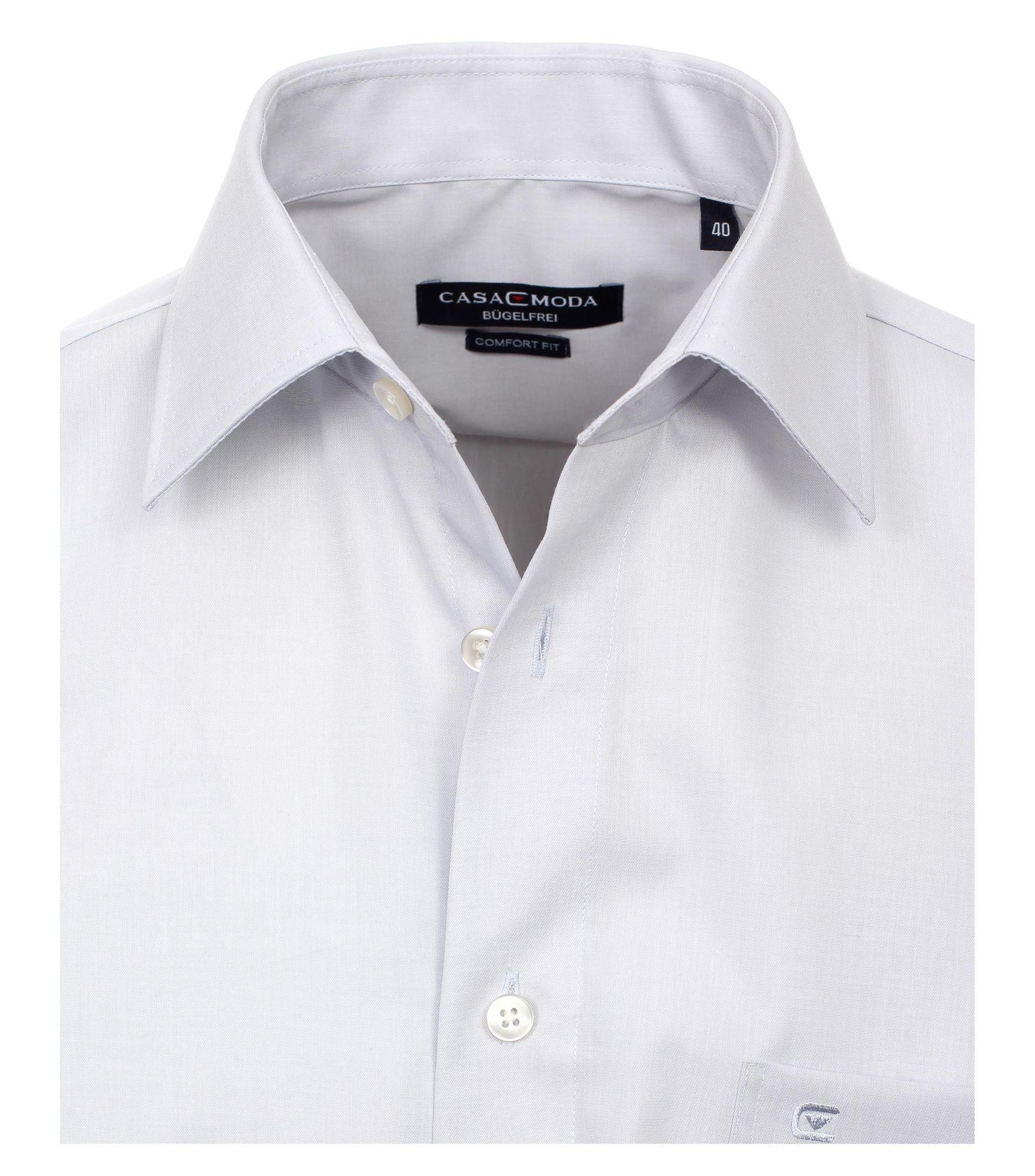 online store 7a6c4 d5037 Casa Moda - Comfort Fit - Bügelfreies Herren Business Hemd mit Extra kurzem  Arm (58cm) in verschiedenen Farben (006068)