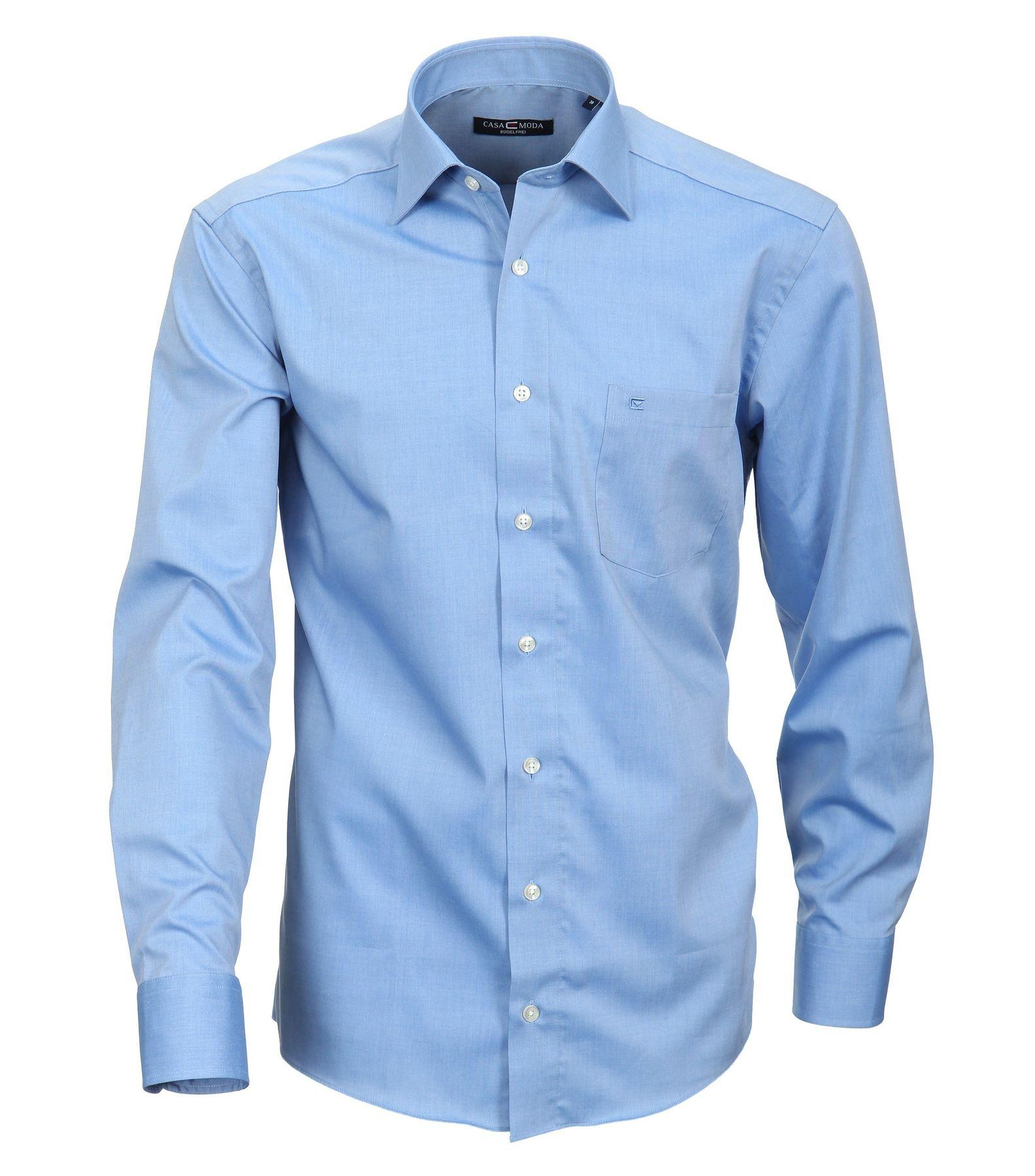 Casa Moda - Comfort Fit - Bügelfreies Herren Business Hemd mit Extra langem Arm (72cm) in verschiedenen Farben (006062) – Bild 7