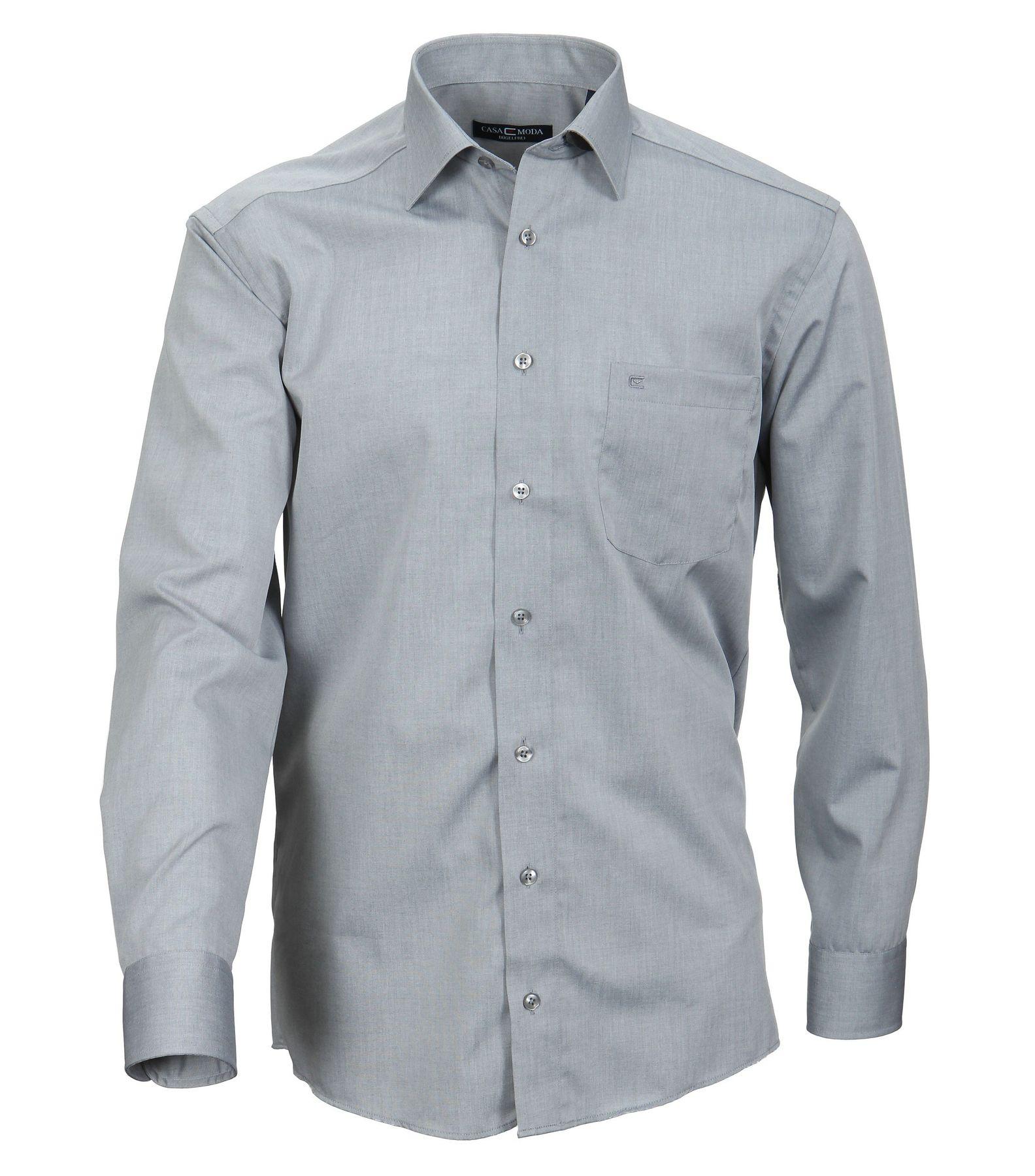 Casa Moda - Comfort Fit - Bügelfreies Herren Business Hemd mit Extra langem Arm (69cm) in verschiedenen Farben (006069)