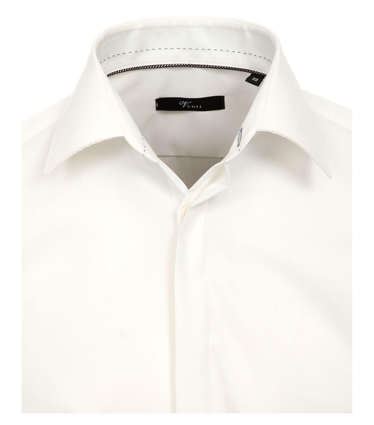 Venti - Evening - Slim Fit-  Festliches Bügelfreies Herren Hemd, schwarz, weiß oder creme (001840) – Bild 7
