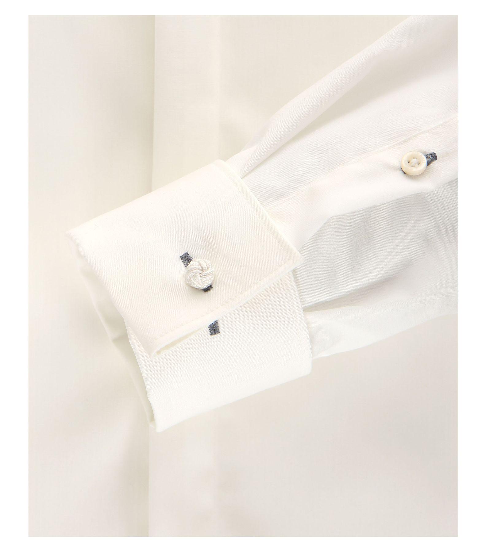 Venti - Evening - Slim Fit-  Festliches Bügelfreies Herren Hemd, schwarz, weiß oder creme (001840) – Bild 11