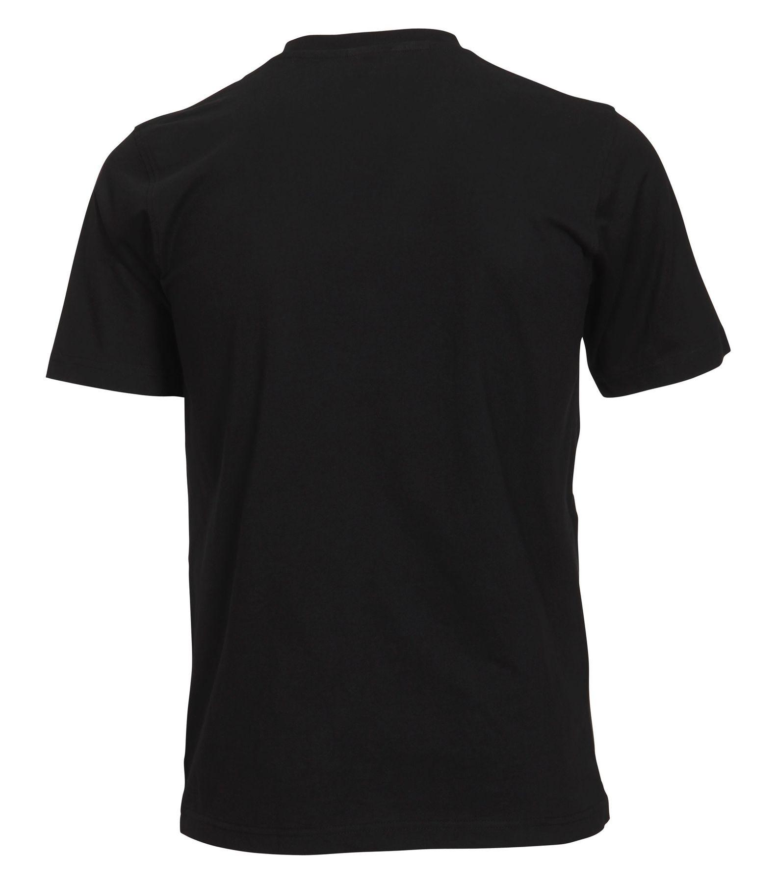 Casa Moda - Herren T-Shirt mit Rundhals im 2er Pack, schwarz oder weiß, S-6XL (092180) – Bild 2