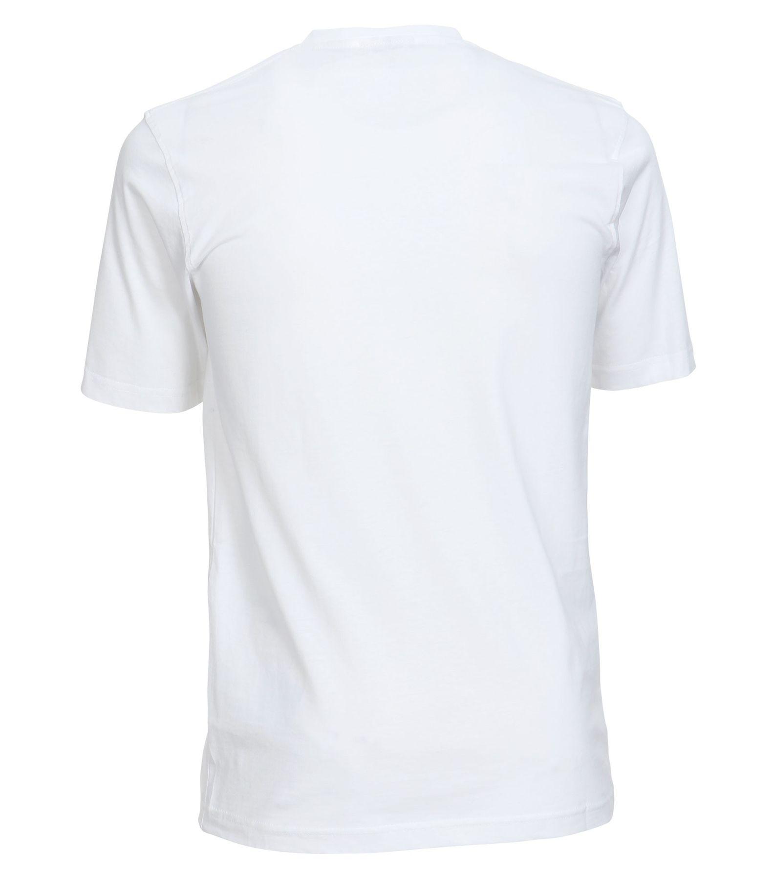 Casa Moda - Herren T-Shirt mit V-Ausschnitt im 2er Pack, schwarz oder weiß, S-6XL (092183) – Bild 2