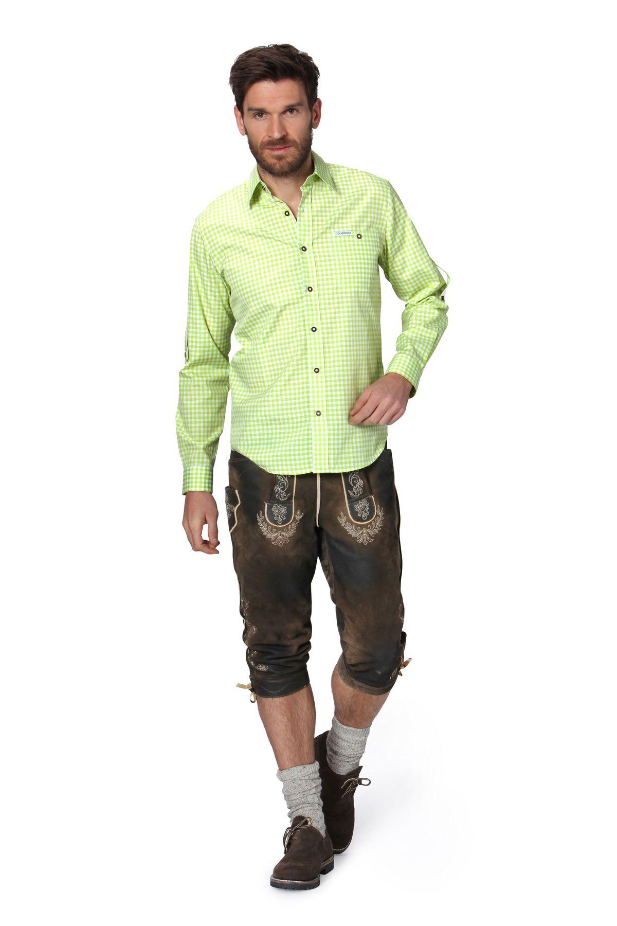 Stockerpoint - Herren Trachtenhemd, kariert in verschiedenen Farbvarianten, Campos2 – Bild 11