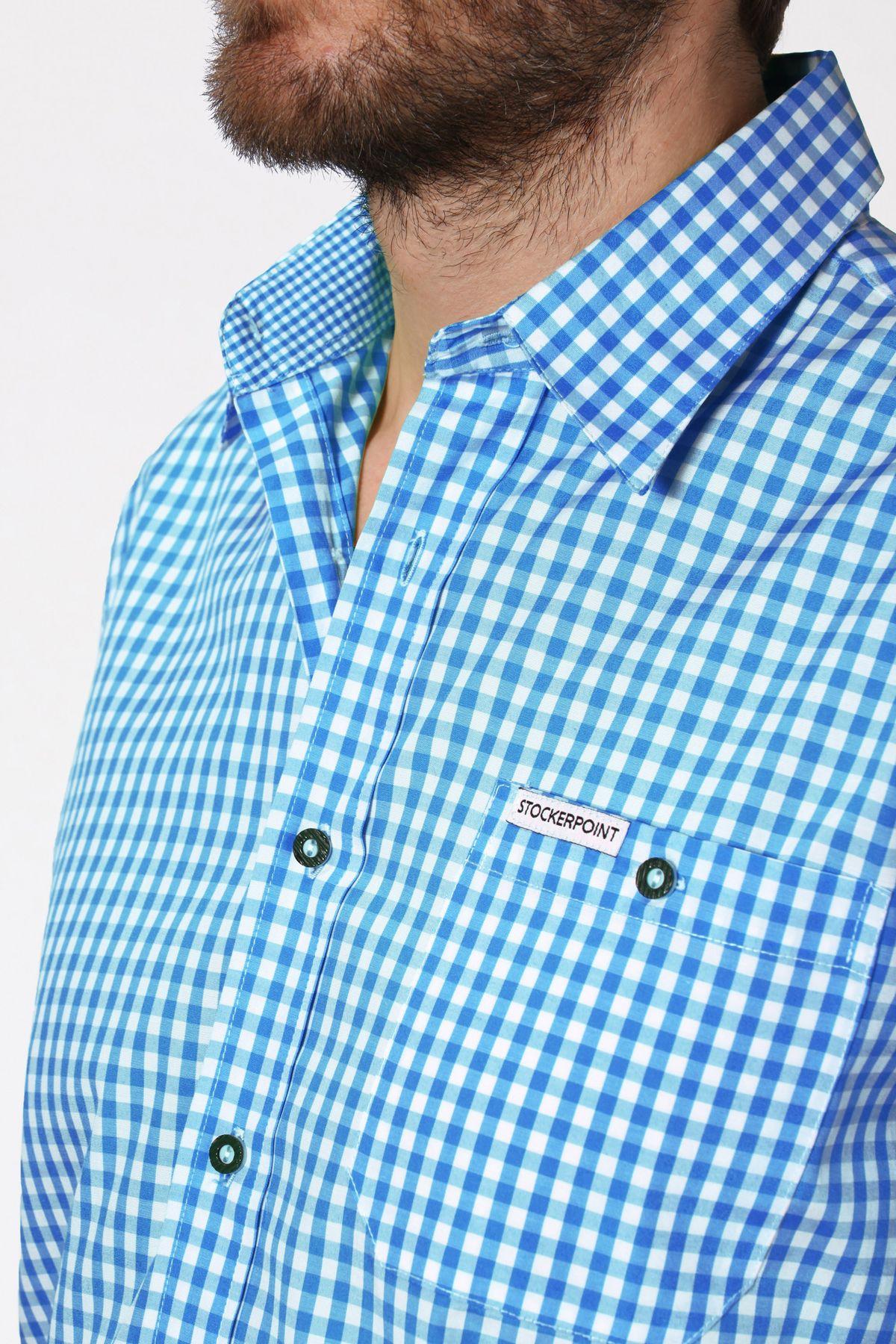 Stockerpoint - Herren Trachtenhemd, kariert in verschiedenen Farbvarianten, Campos2 – Bild 9