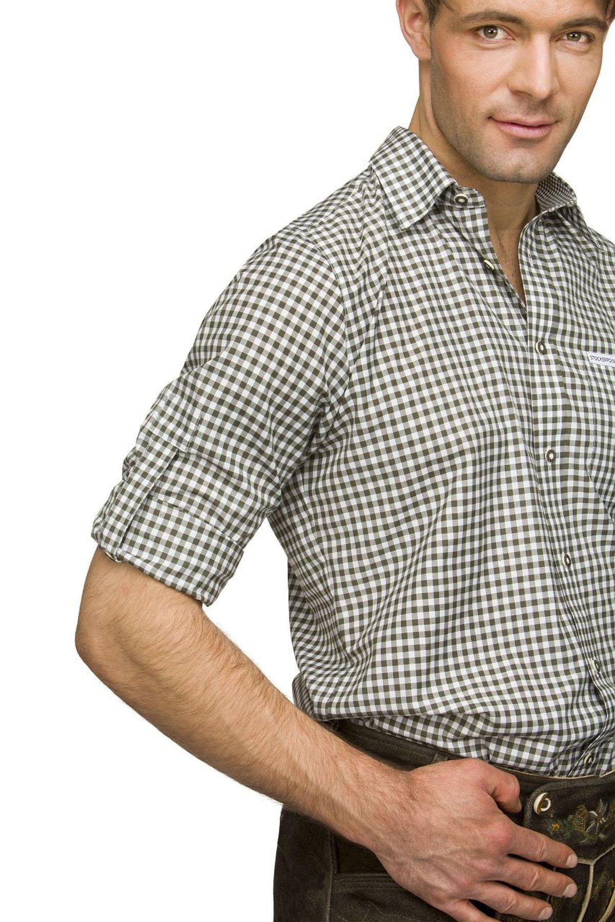 Stockerpoint - Herren Trachtenhemd, kariert in verschiedenen Farbvarianten, Campos2 – Bild 23
