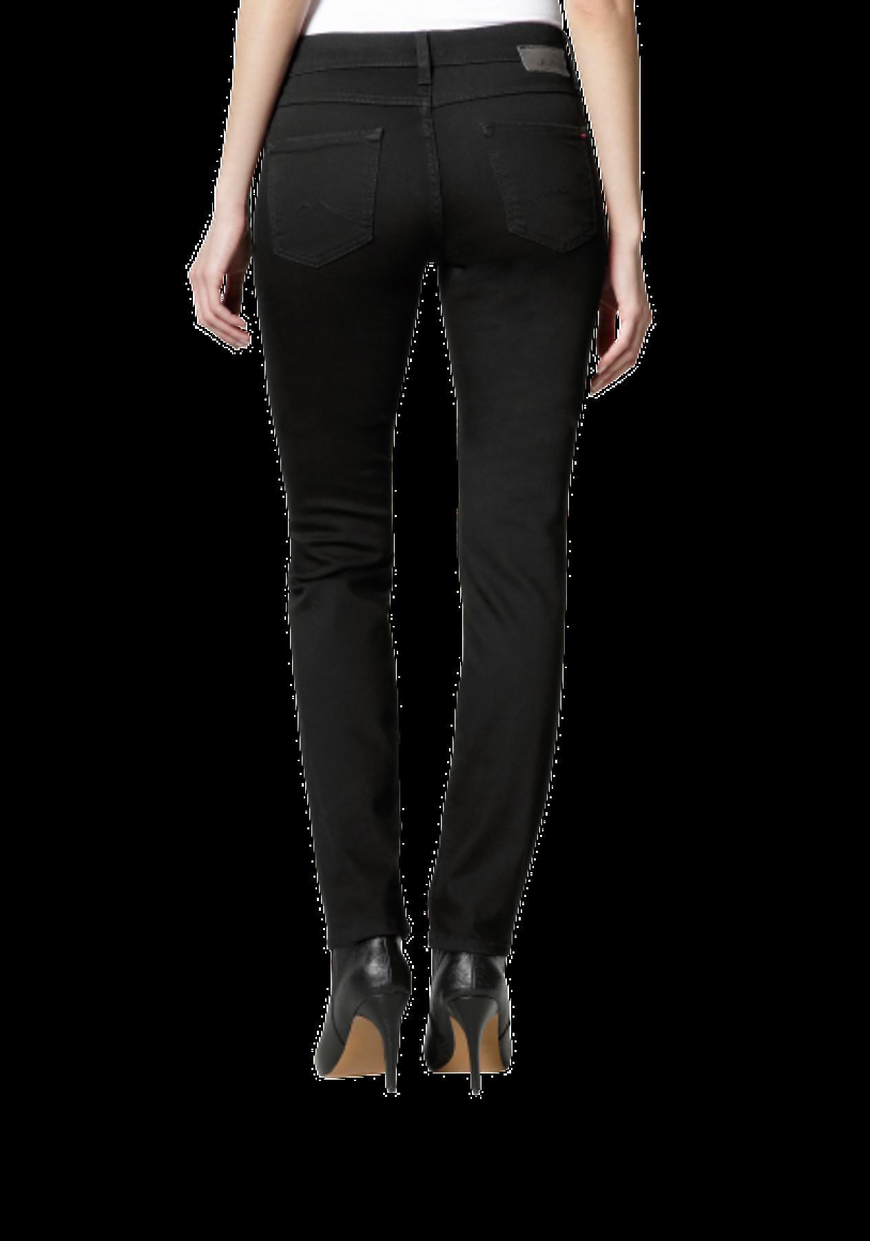 Mustang - Slim Leg/Medium Rise - Damen Jeans Hose in Schwarz (midnight black), Jasmin Slim (586-5174-490) – Bild 3