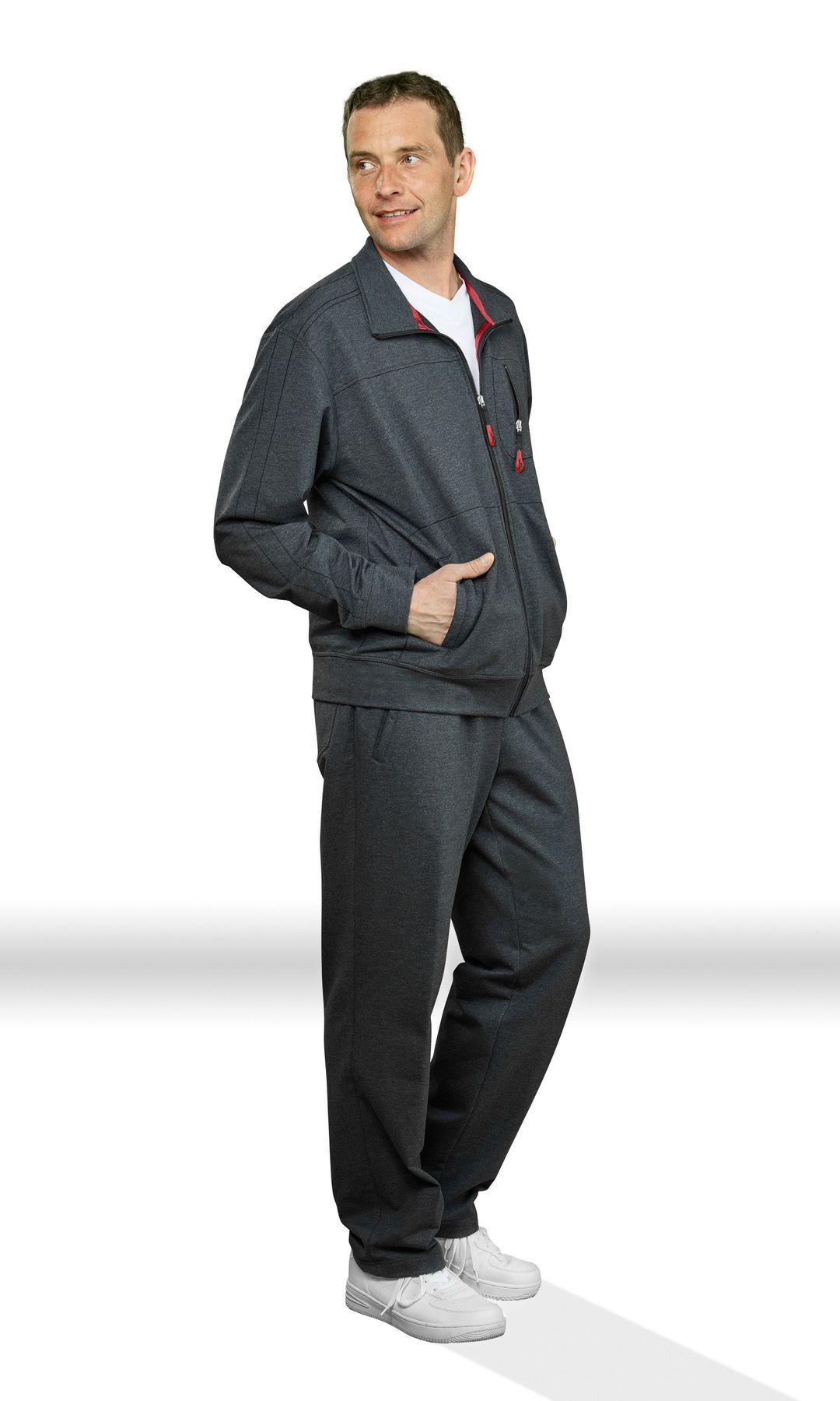 Authentic klein - Herren Sport und Freizeit Jacke aus Baumwollmix in verschiedenen Farben (53033) – Bild 19