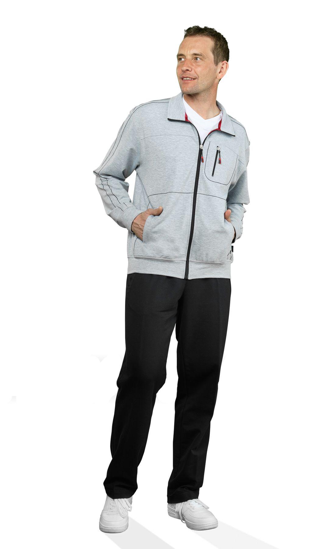 Authentic klein - Herren Sport und Freizeit Jacke aus Baumwollmix in verschiedenen Farben (53033) – Bild 4