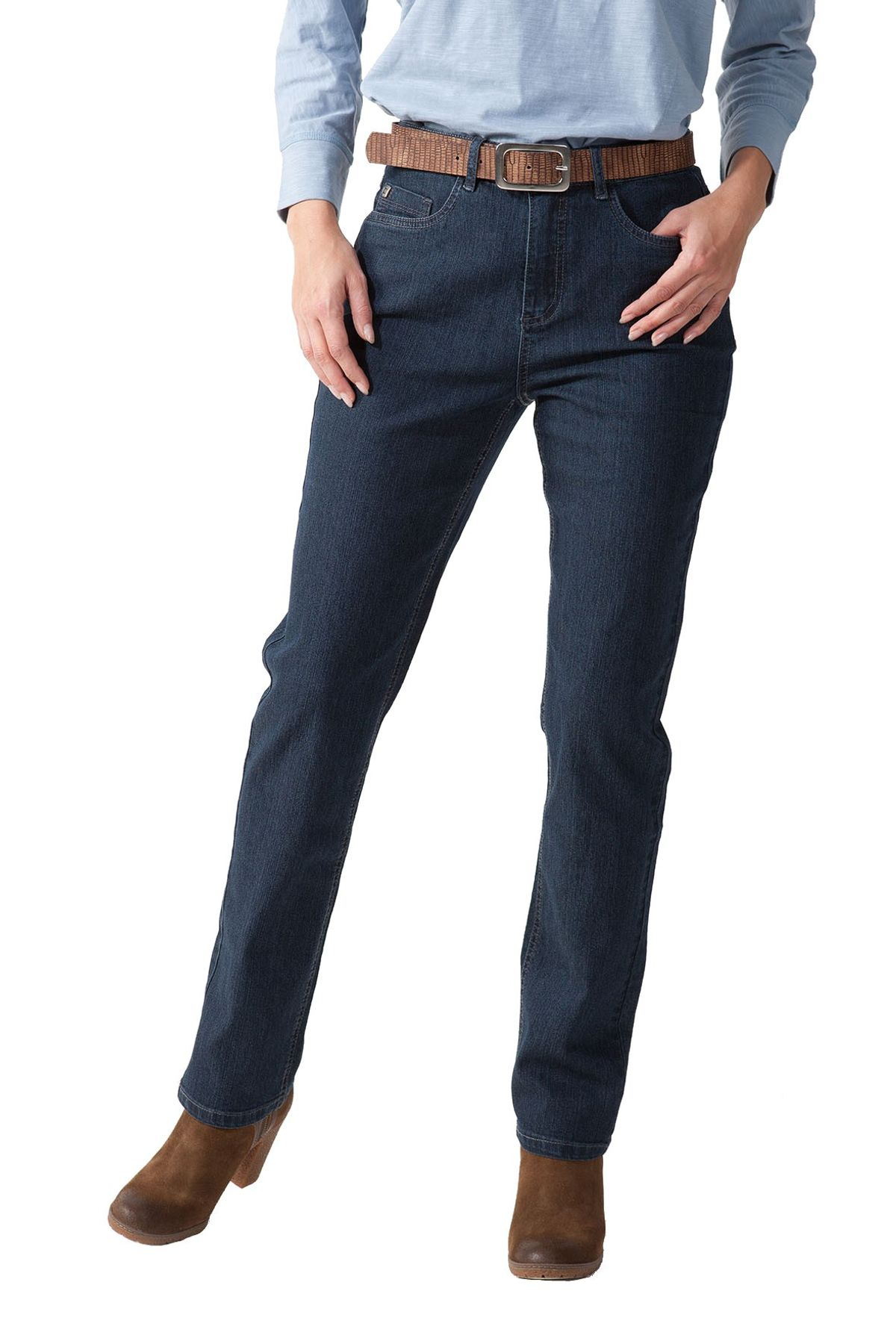 Stooker - Damen 5 Pocket Jeans in verschiedenen Farben, Classic Stretch, Nizza (1180) – Bild 1