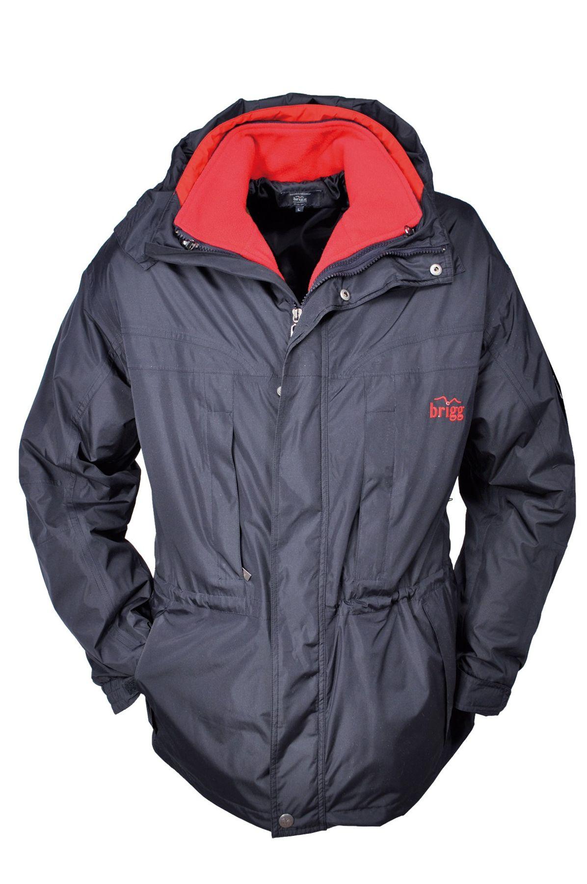Brigg -  Herren Outdoor Jacke in Schwarz oder Blau (1003 2005) – Bild 3