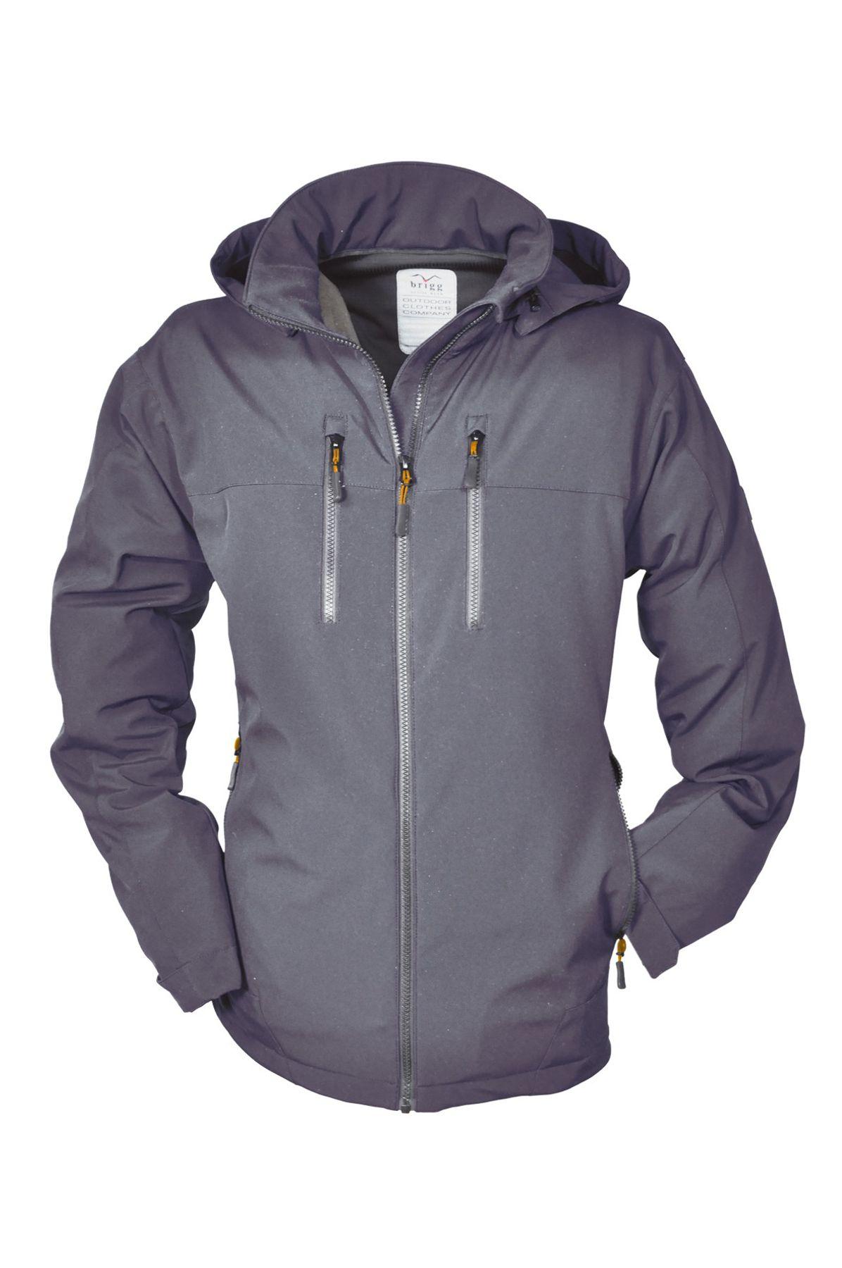 Brigg - Herren Softshell Jacke in verschiedenen Farben, Wasserdicht, Atmungsaktiv, Winddicht (10 776 705) – Bild 2