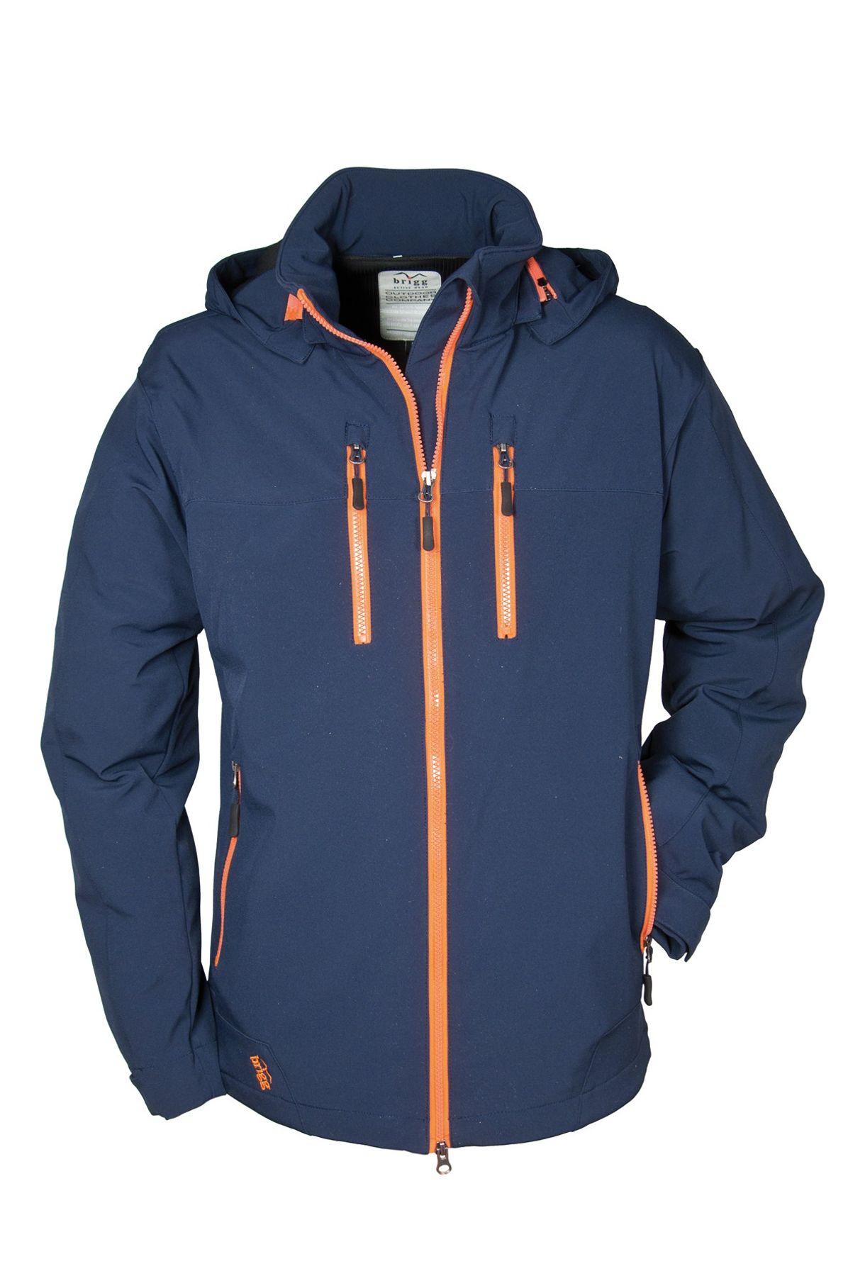 Brigg - Herren Softshell Jacke in verschiedenen Farben, Wasserdicht, Atmungsaktiv, Winddicht (10 776 705) – Bild 4