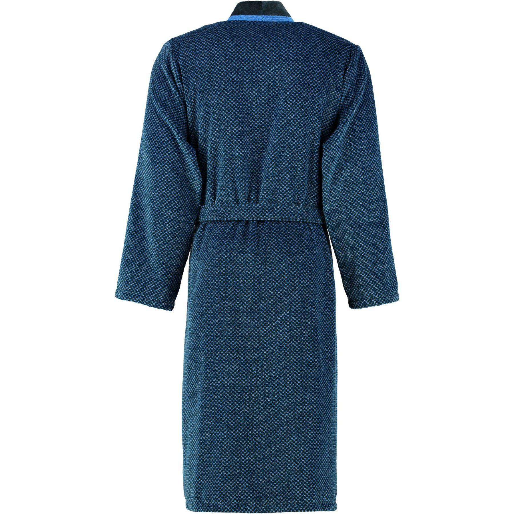 Cawö - Herren Velours Bademantel in Kimono Form, verschiedene Farbtönen (4839) – Bild 4