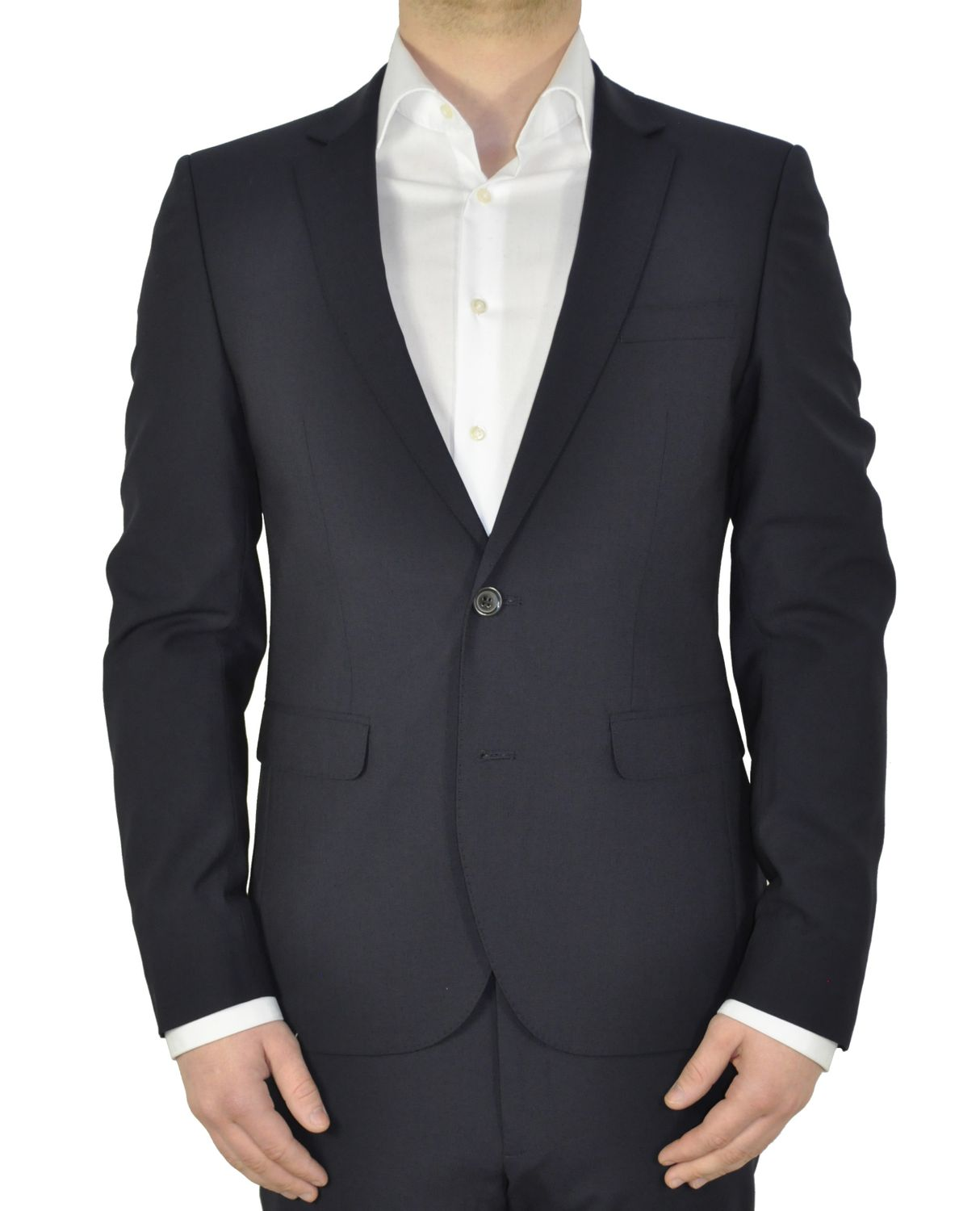 White Bros. - Slim Fit Sakko in Schwarz oder Dunkelblau (Art.: 8851624) 001