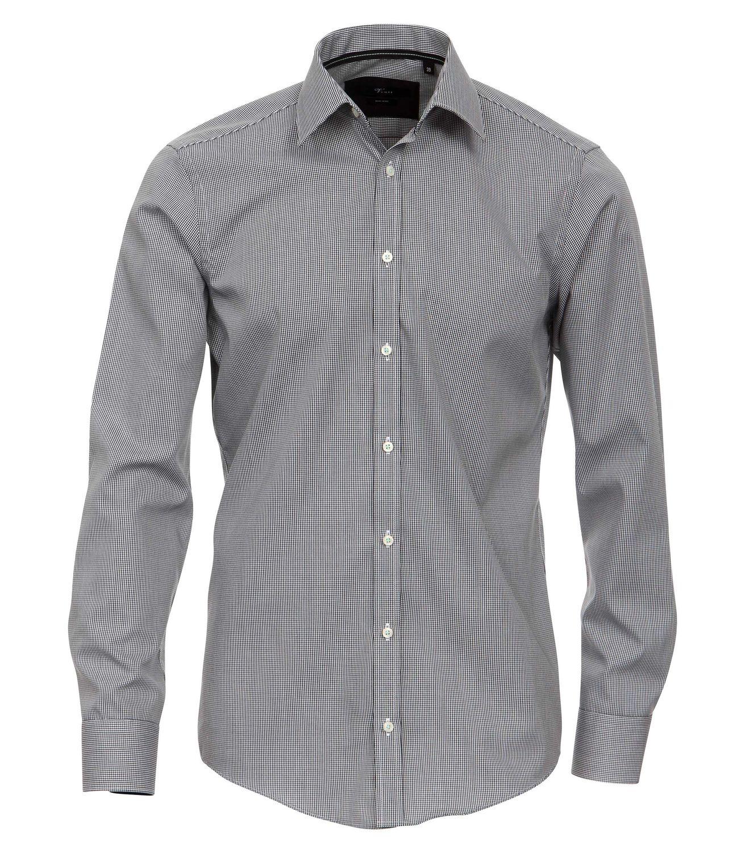 Venti - Slim Fit - Bügelfreies Herren Business Hemd mit Extra langem Arm(72cm) (001862)