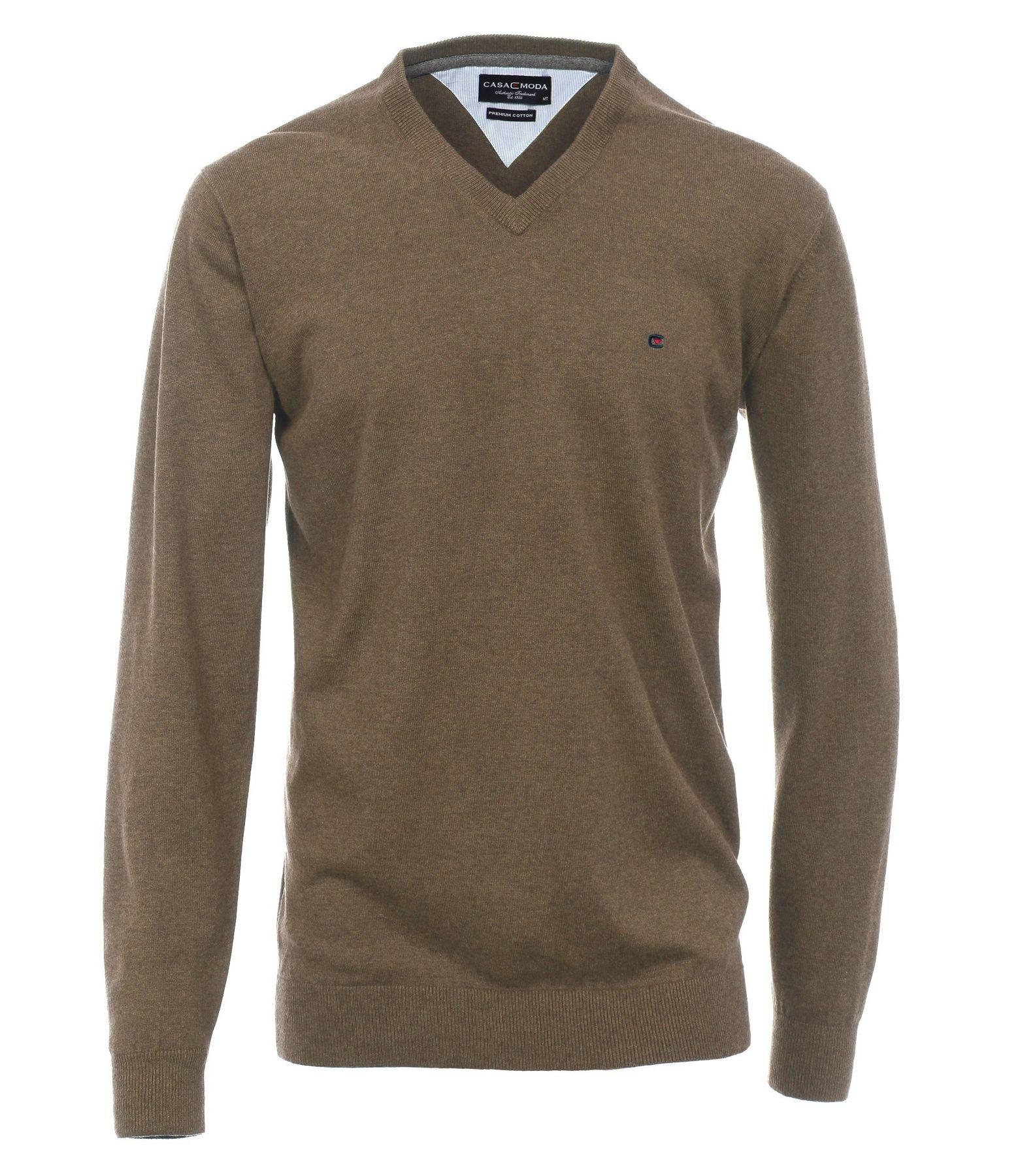 Casa Moda - Herren Pullover mit extra langem Arm (72 cm) und V-Ausschnitt in verschiedenen Farben (401300202) – Bild 13
