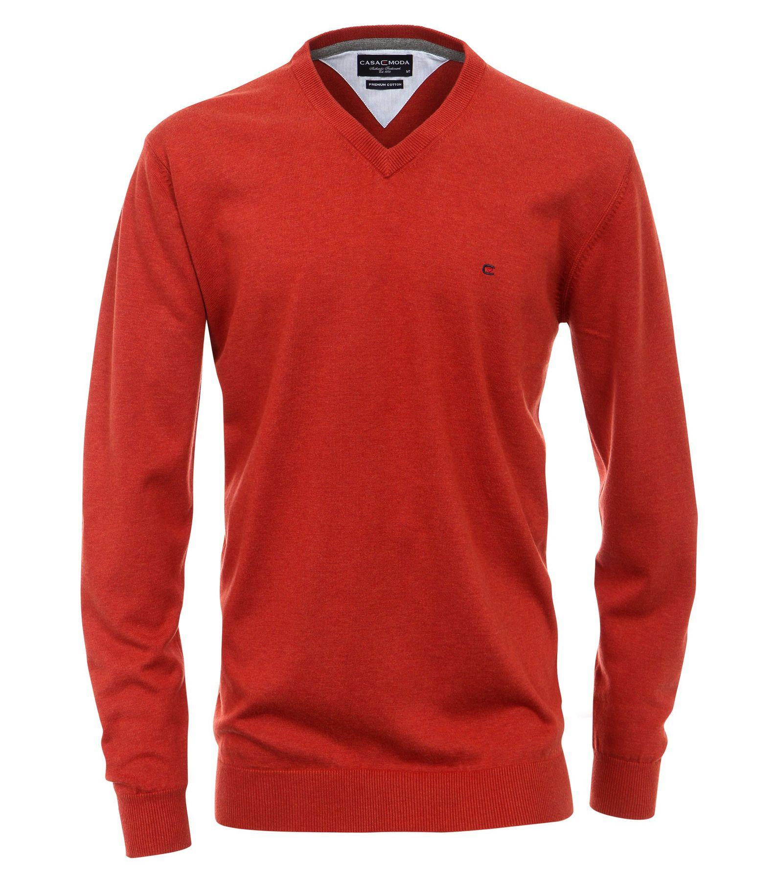 Casa Moda - Herren Pullover mit extra langem Arm (72 cm) und V-Ausschnitt in verschiedenen Farben (401300202) – Bild 2