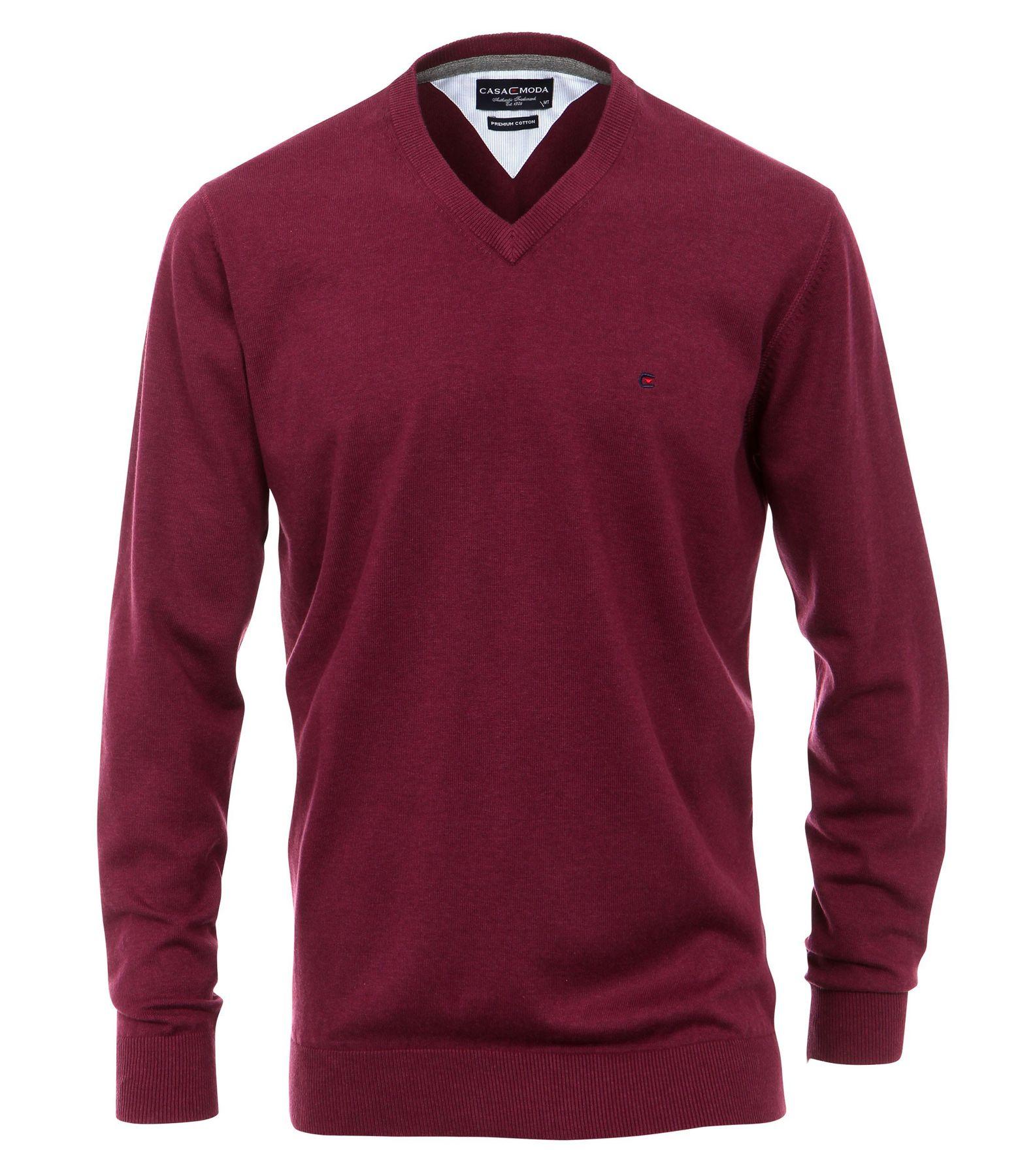 Casa Moda - Herren Pullover mit extra langem Arm (72 cm) und V-Ausschnitt in verschiedenen Farben (401300202) – Bild 3