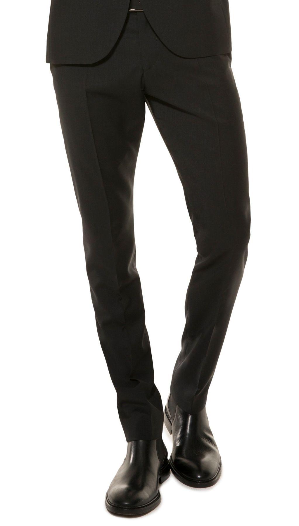 Herren Slim Fit Baukasten Anzughose aus reiner Schurwolle, Marke: Lanificio Tessile d'Oro, Lux (CMP-9999-6730) – Bild 3