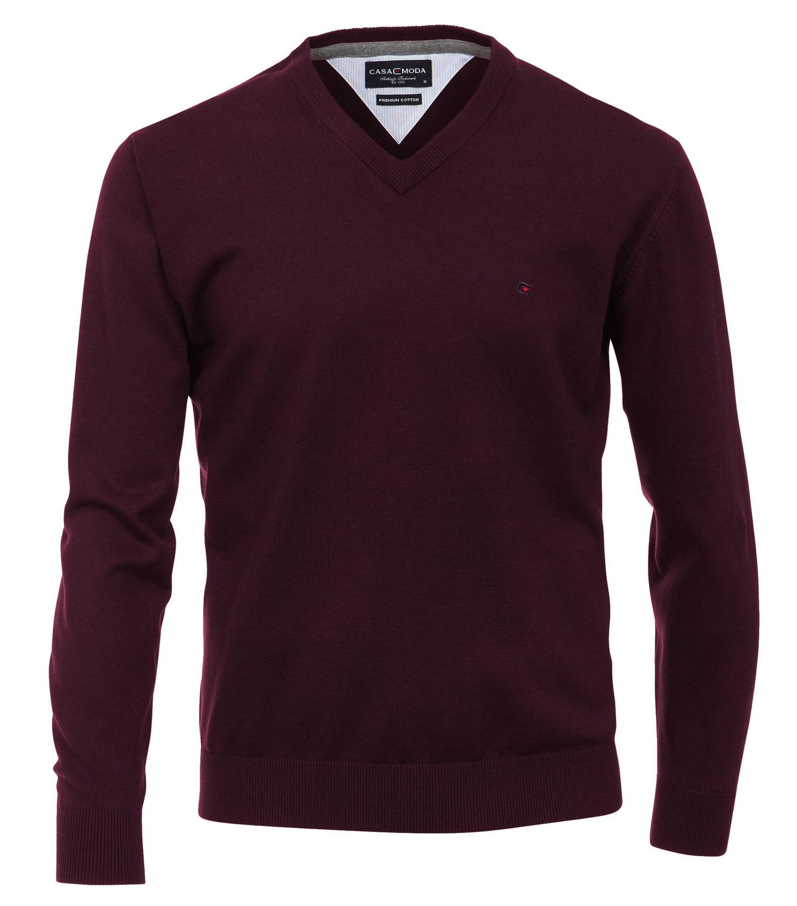 Casa Moda - Herren Pullover mit V-Ausschnitt in verschiedenen Farben (004130A) – Bild 5