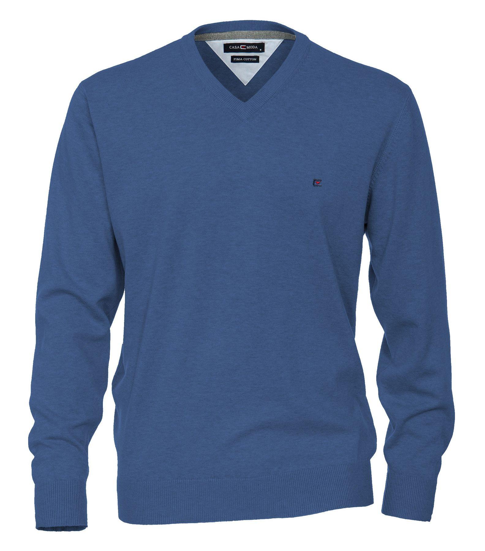 Casa Moda - Herren Pullover mit V-Ausschnitt in verschiedenen Farben (004130A) – Bild 8