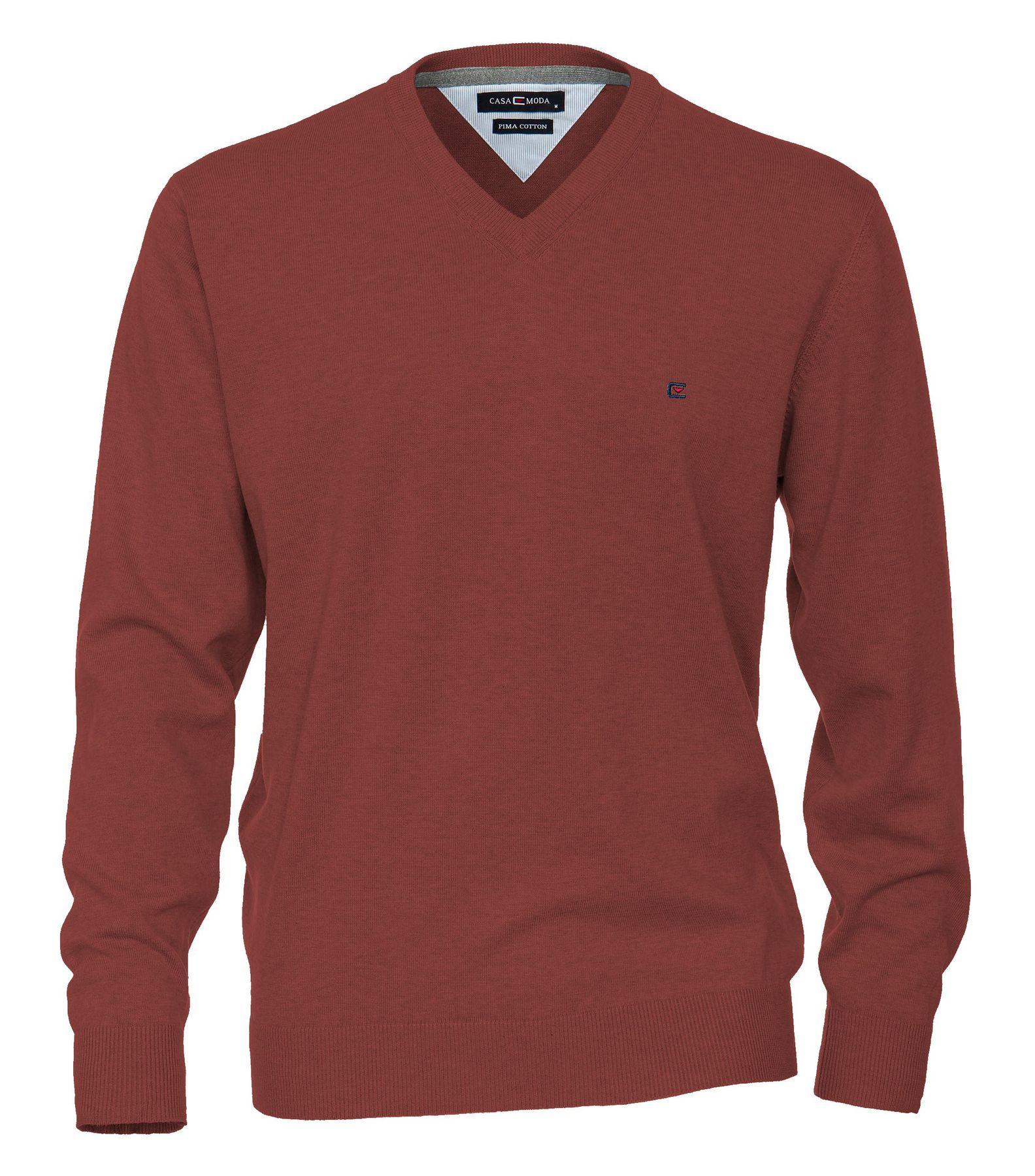 Casa Moda - Herren Pullover mit V-Ausschnitt in verschiedenen Farben (004130A) – Bild 12