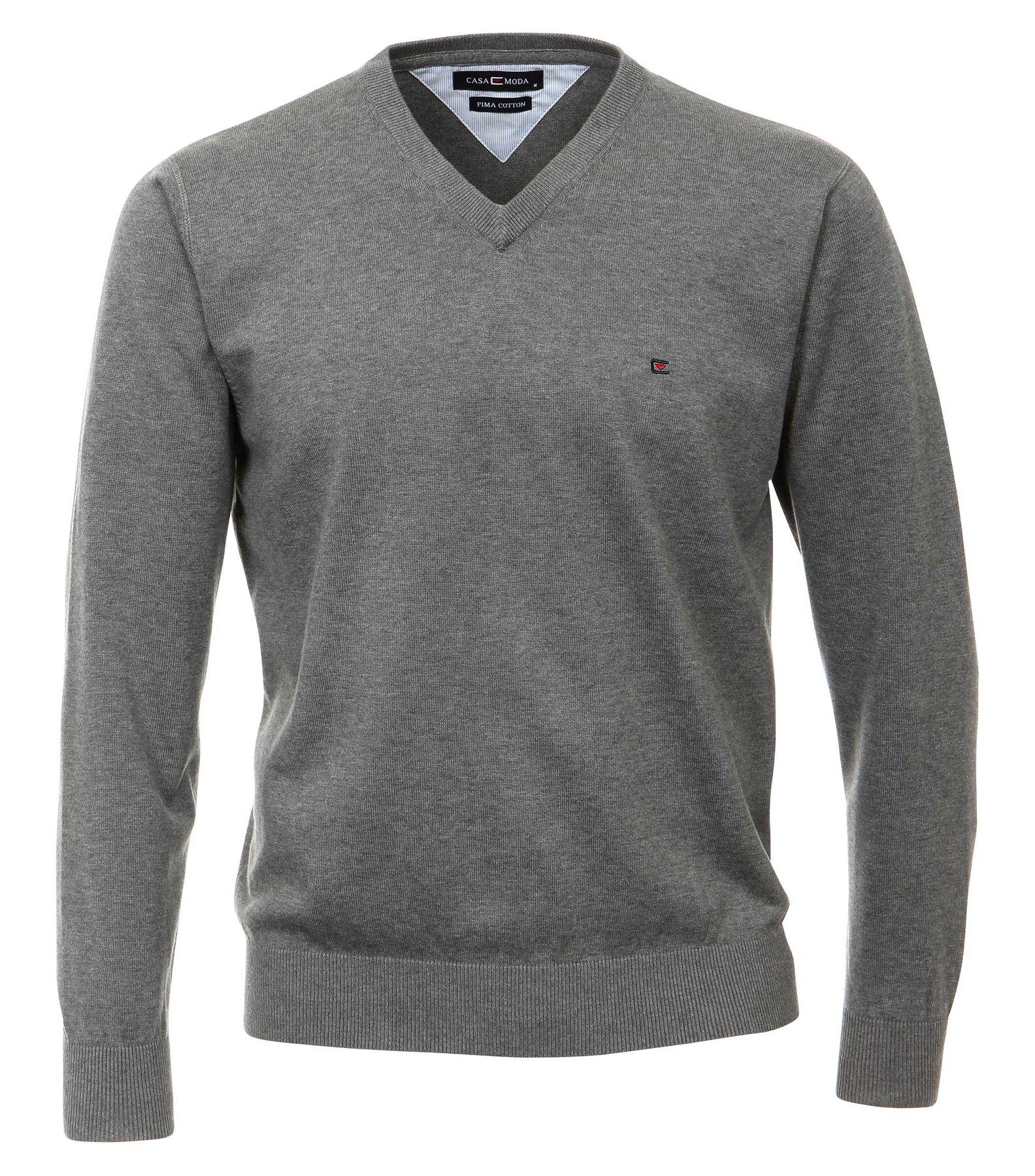 Casa Moda - Herren Pullover mit V-Ausschnitt in verschiedenen Farben (004130A) – Bild 2