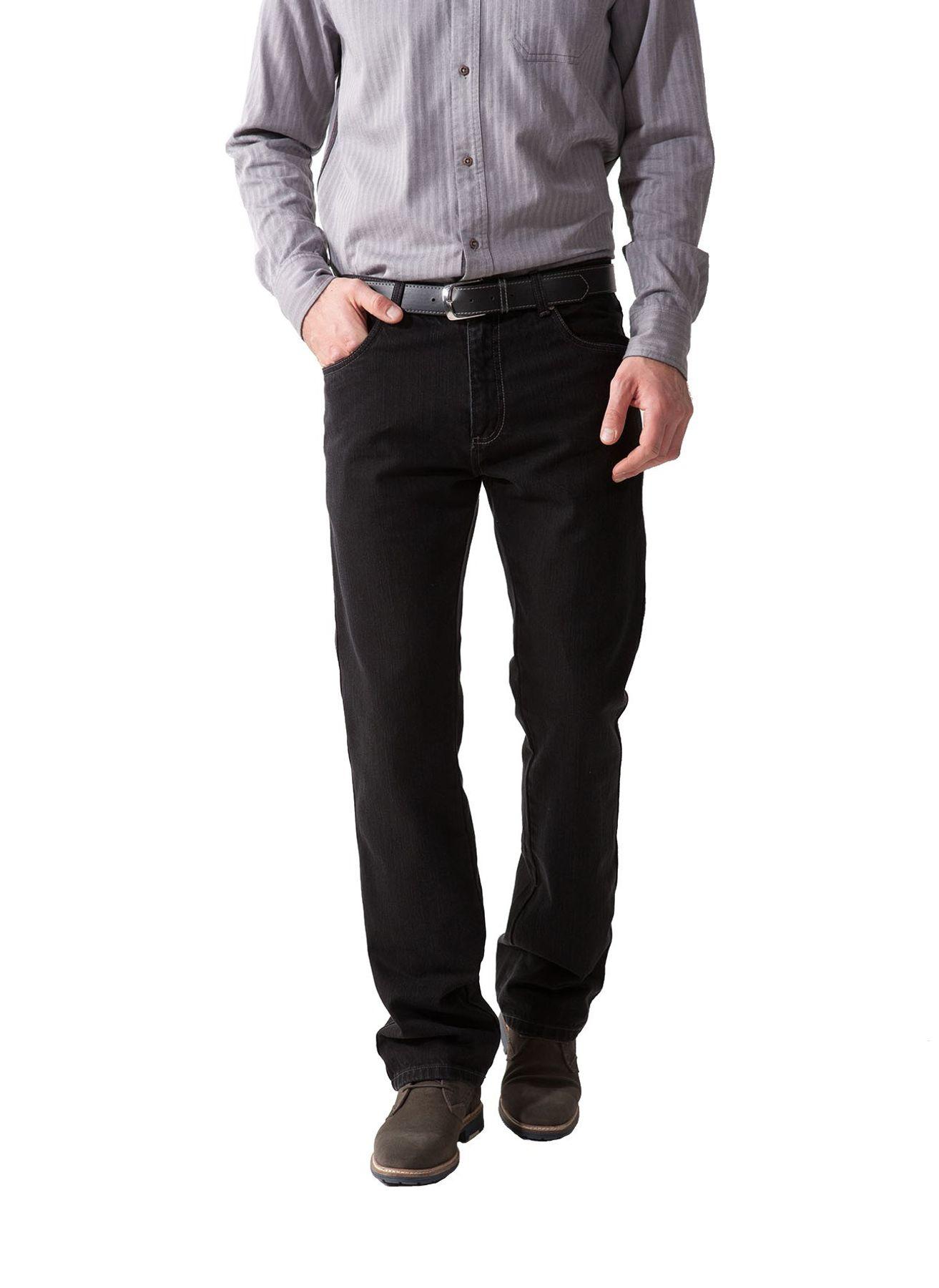 Herren 5-Pocket Jeans mit Stretch in Schwarz oder Blau – Bild 1